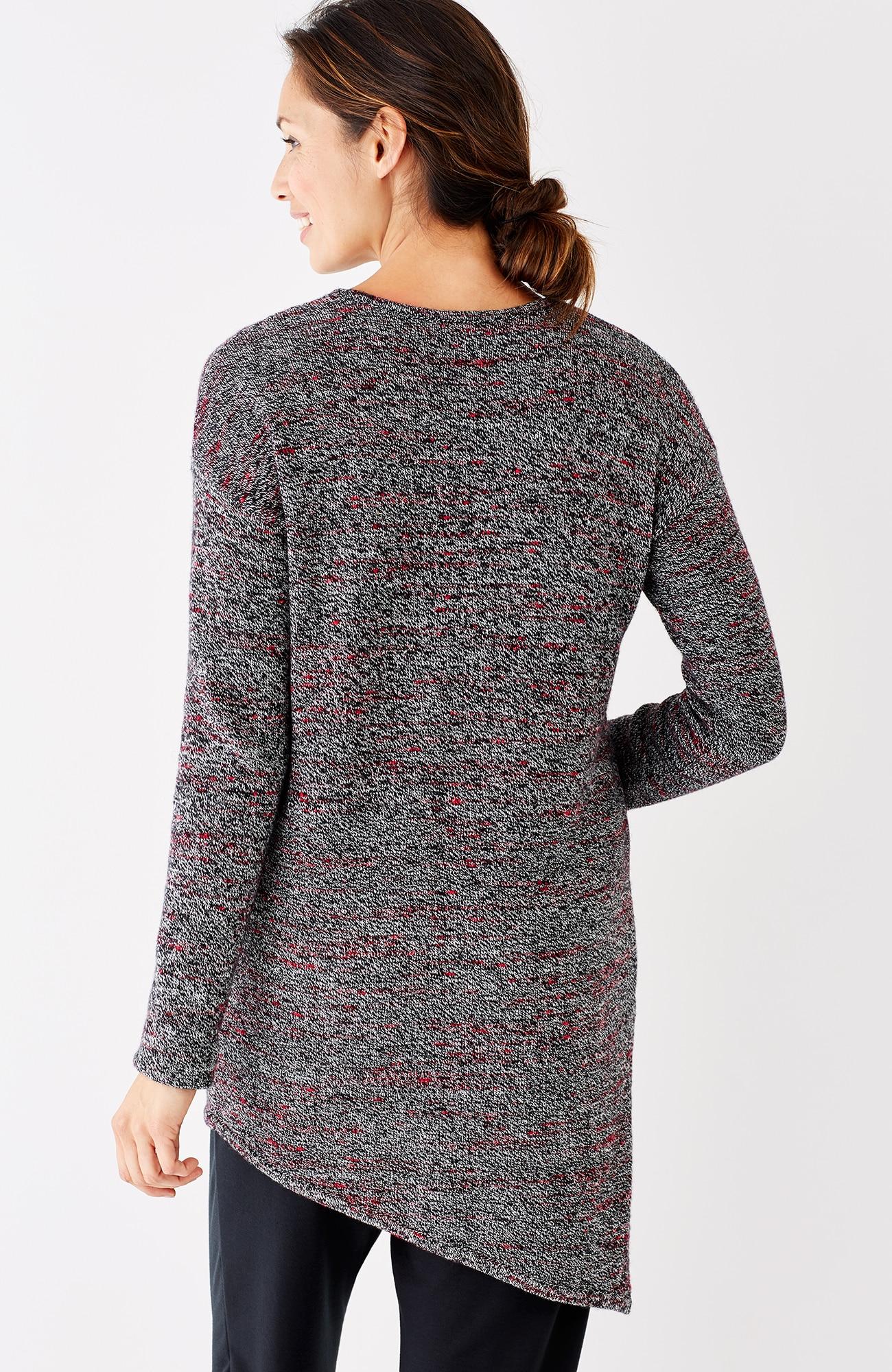 Pure Jill asymmetric sweater tunic
