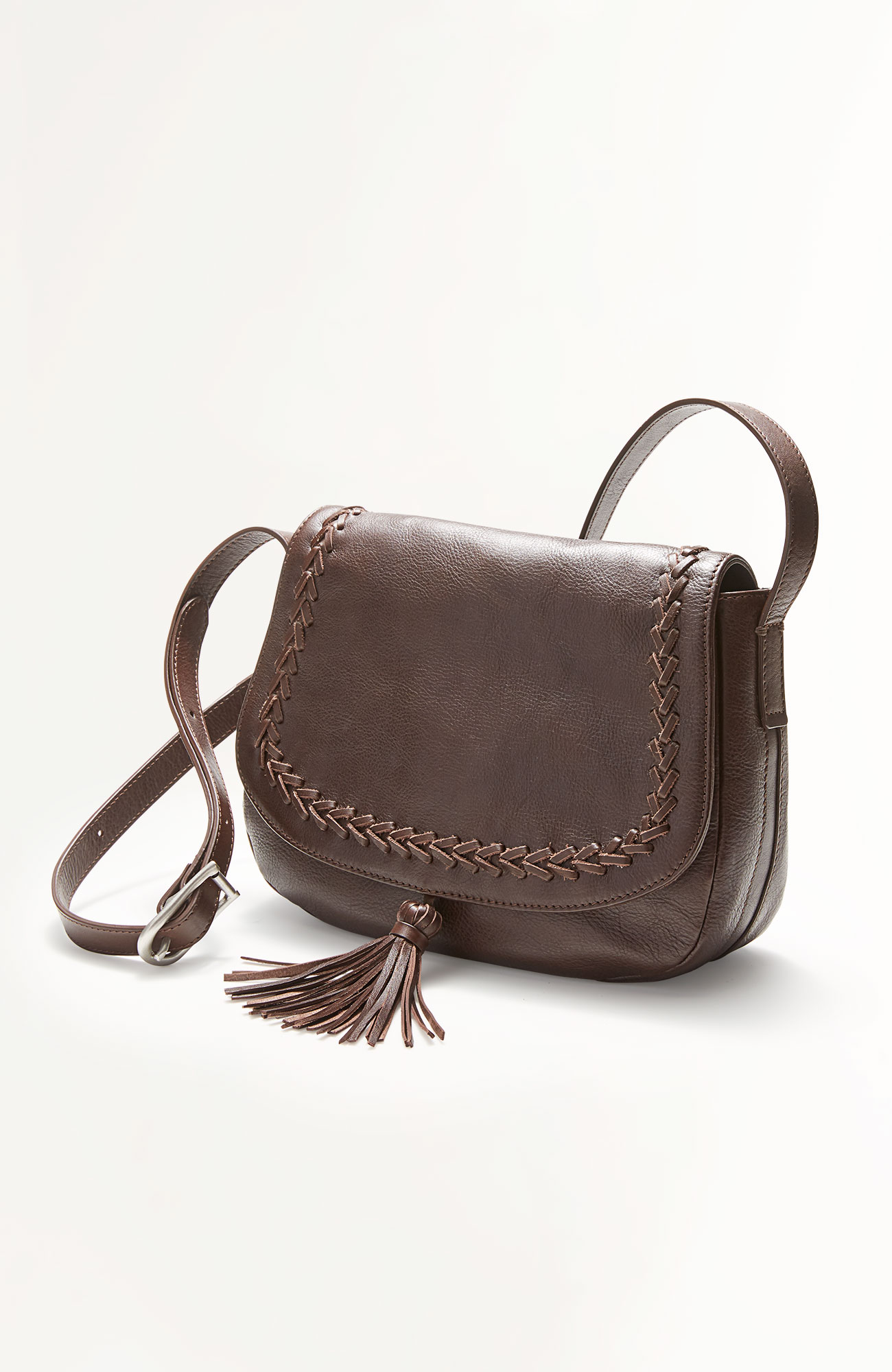 cross-body saddle bag