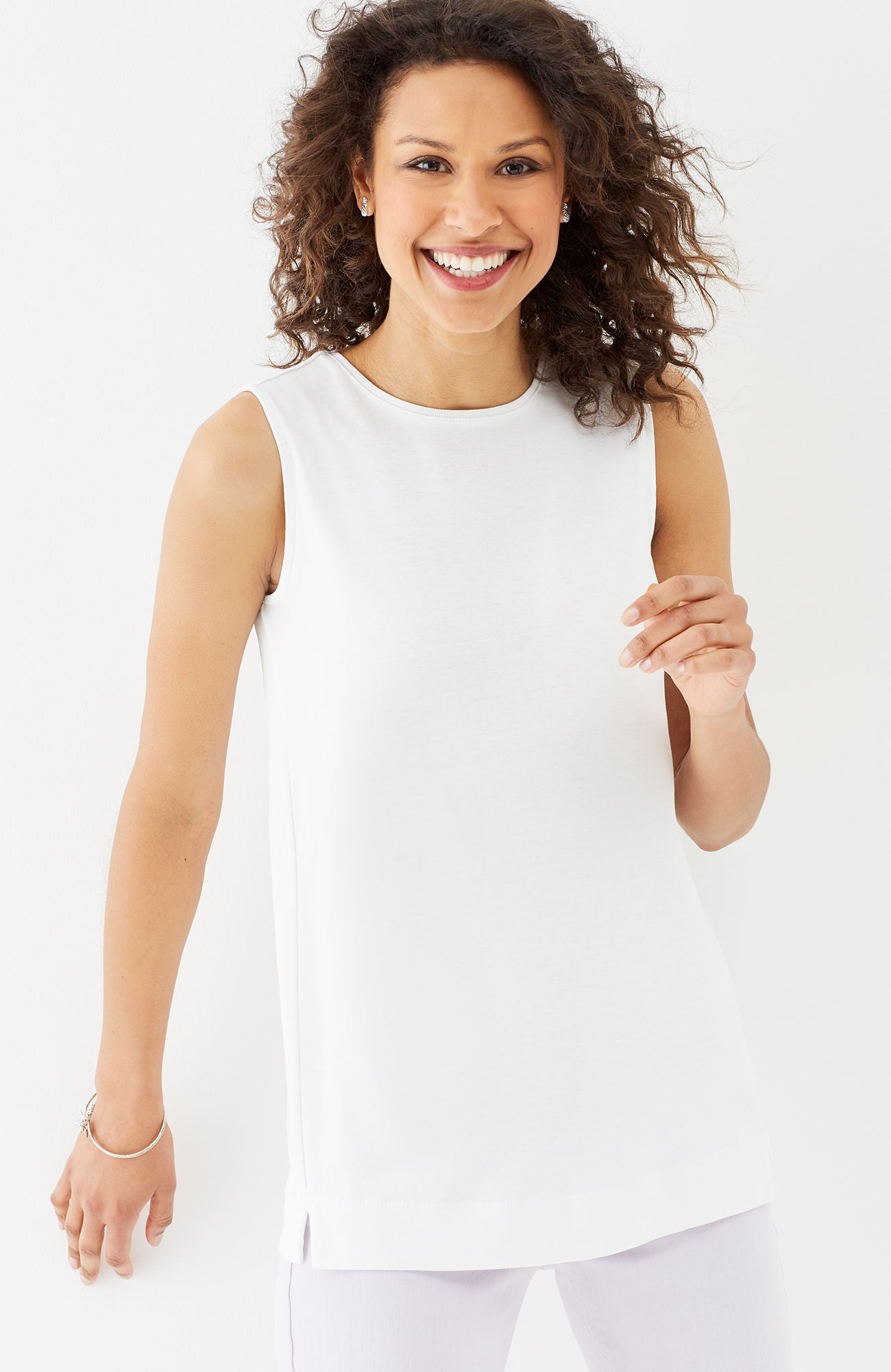 perfect pima forward-seam tank