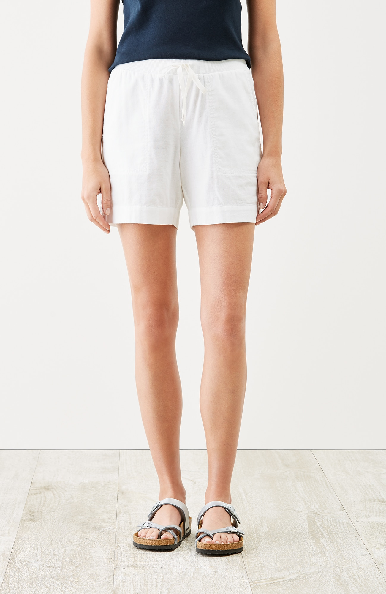 easy double-cloth shorts