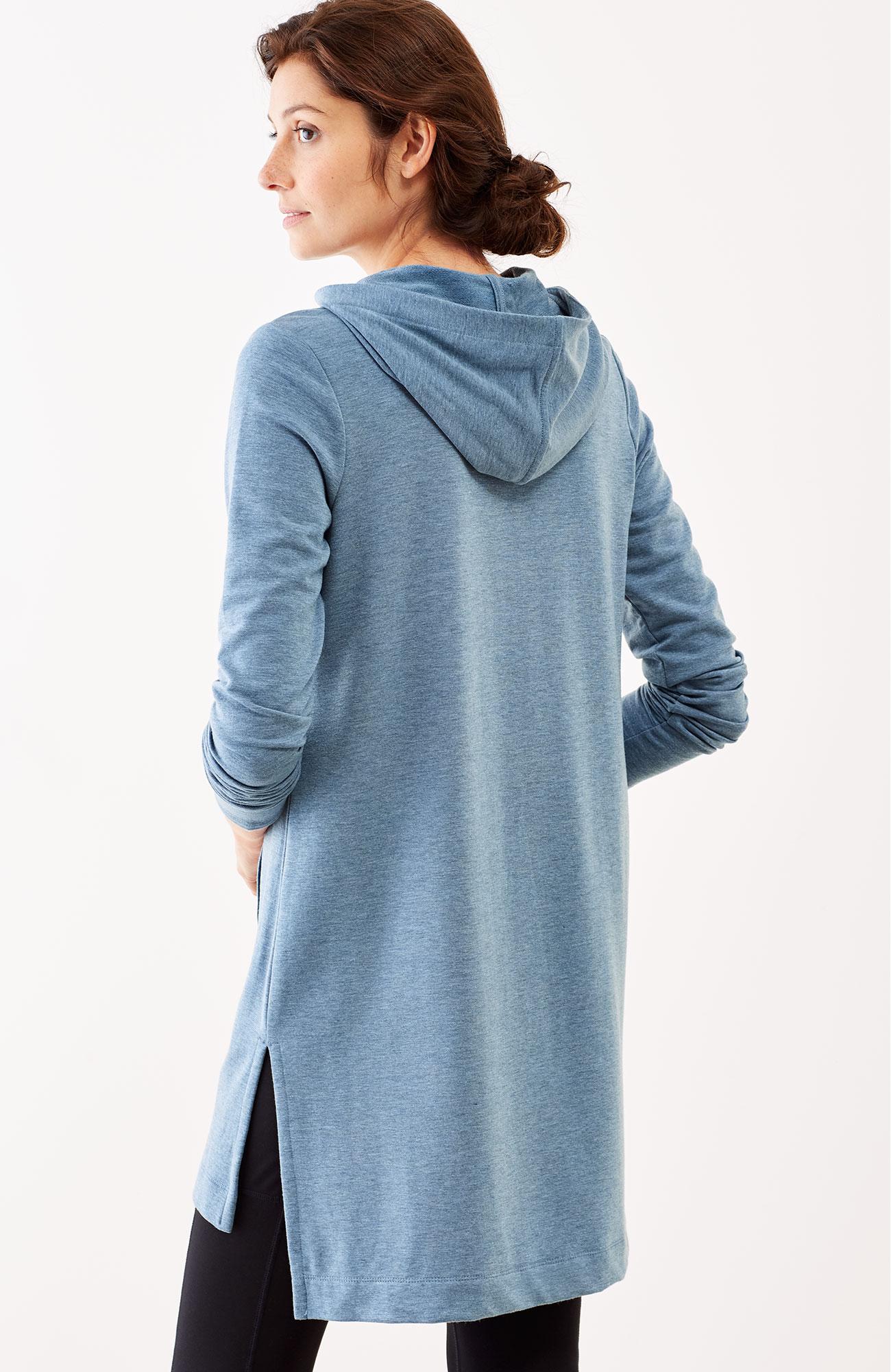 Pure Jill Luxe Tencel® hooded tunic