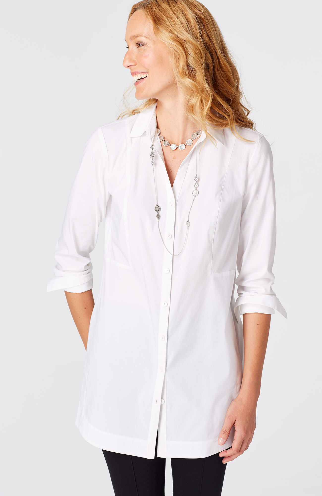 perfect seamed tunic