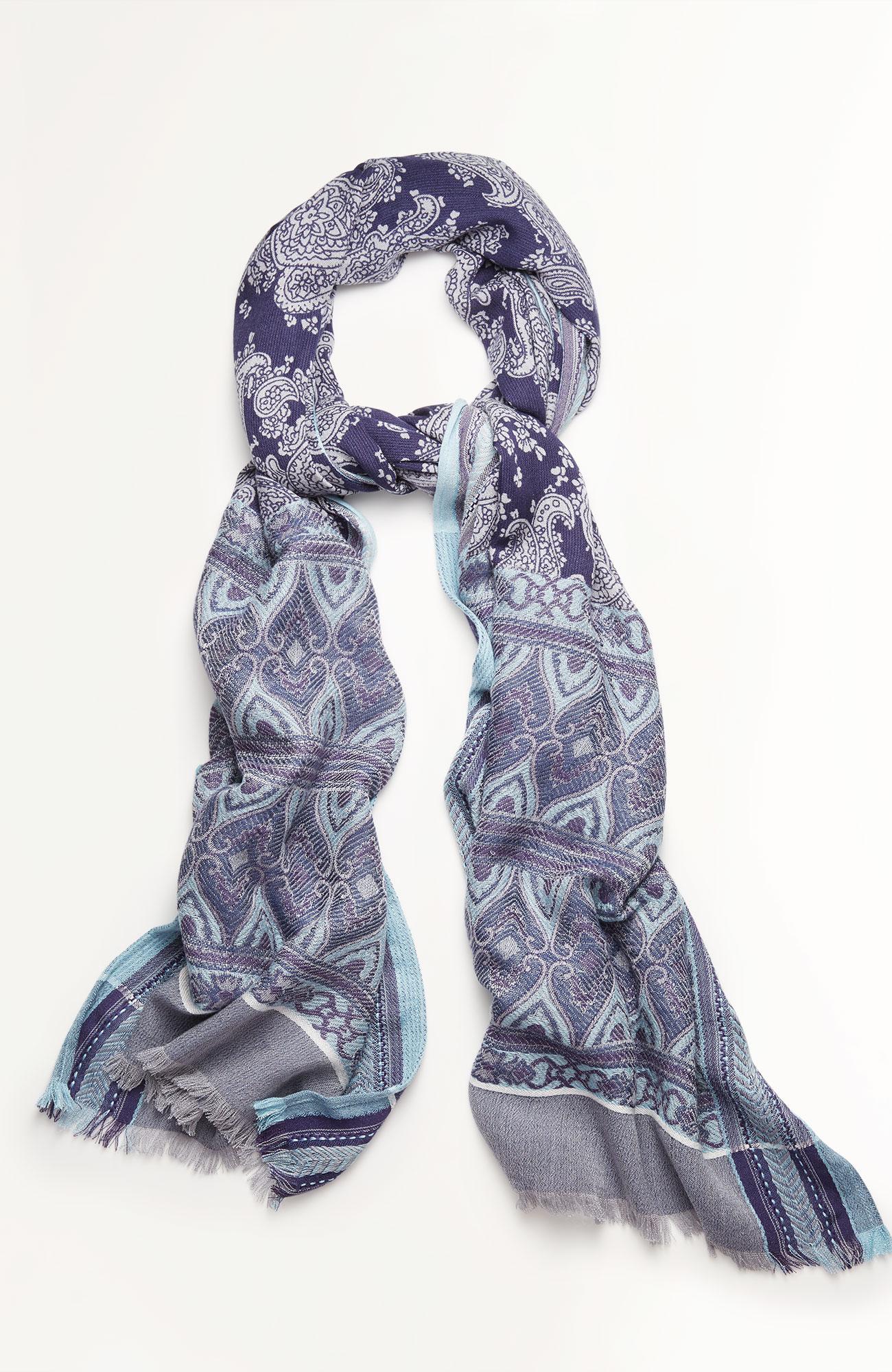 filigree jacquard scarf