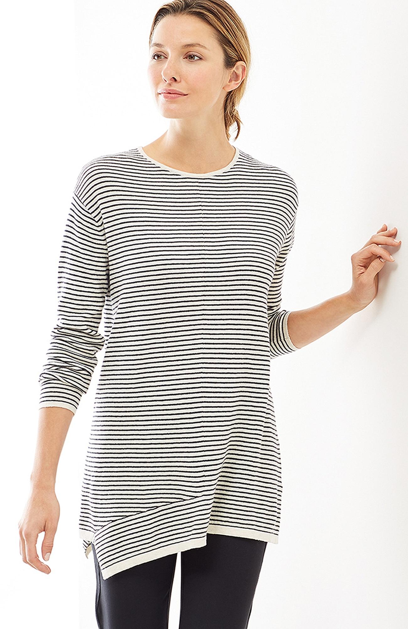 Pure Jill ultrasoft asymmetric pullover