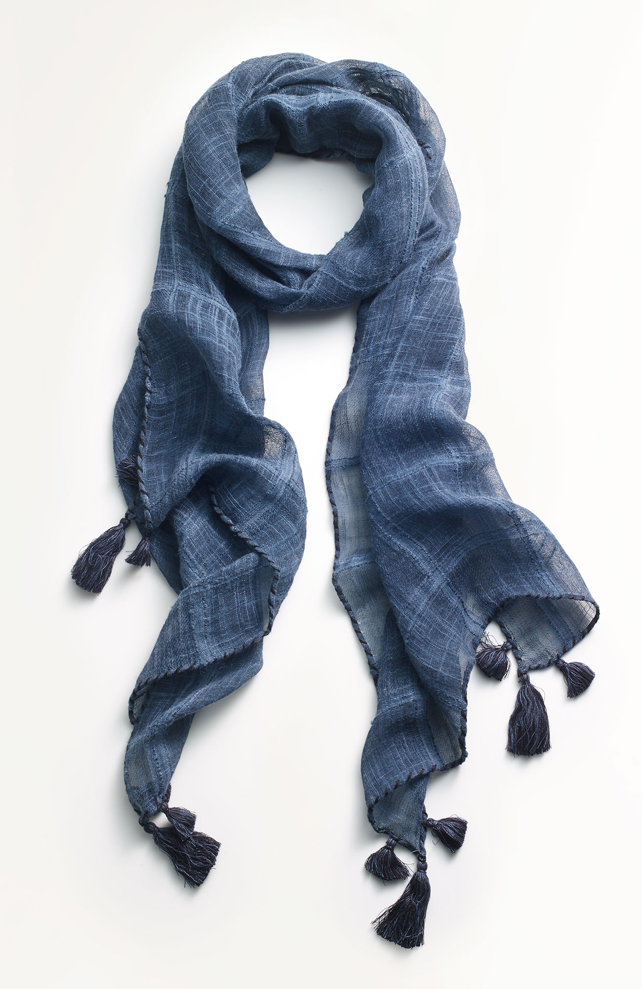 Pure Jill textured scarf