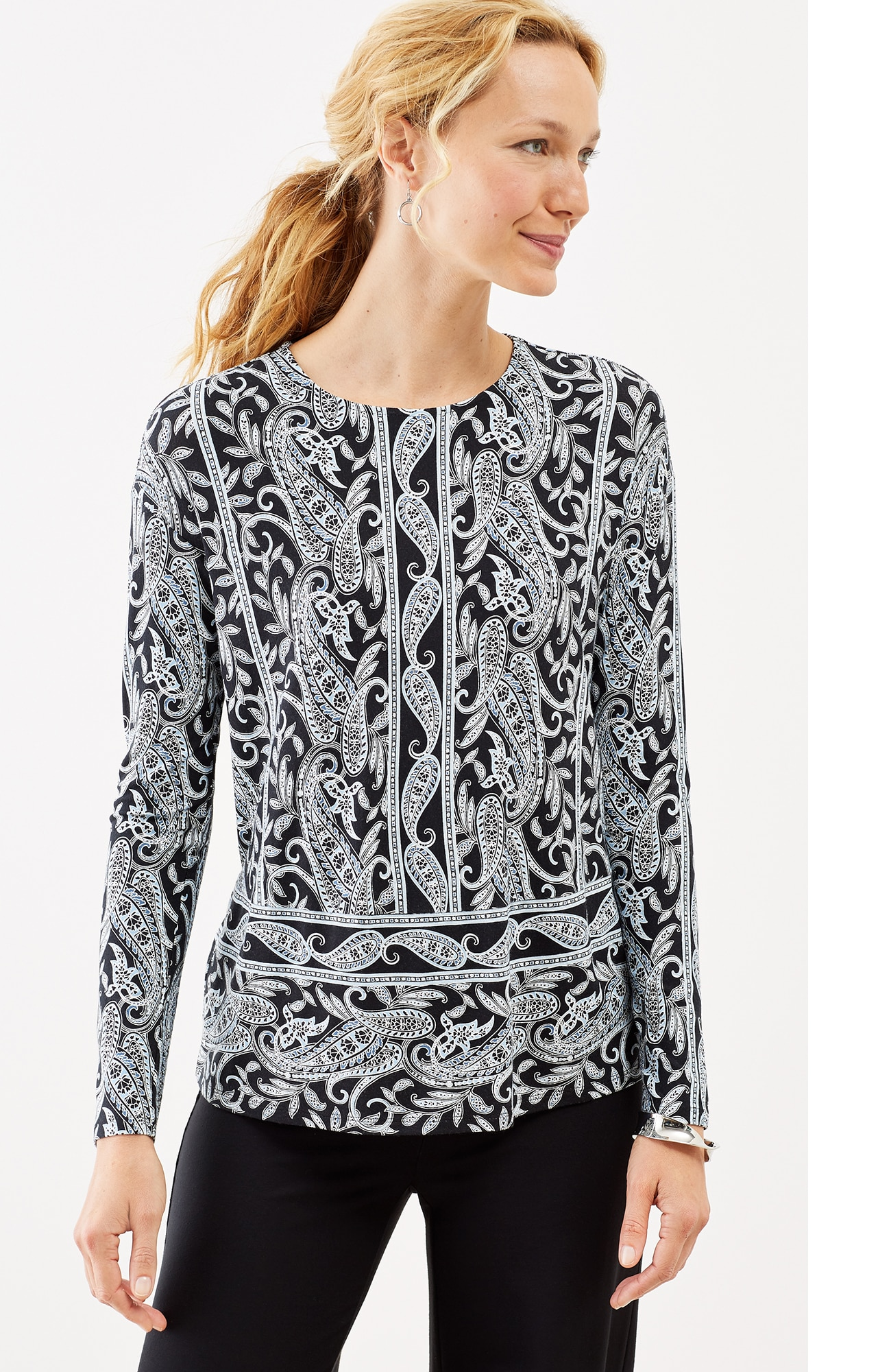 Wearever paisley top