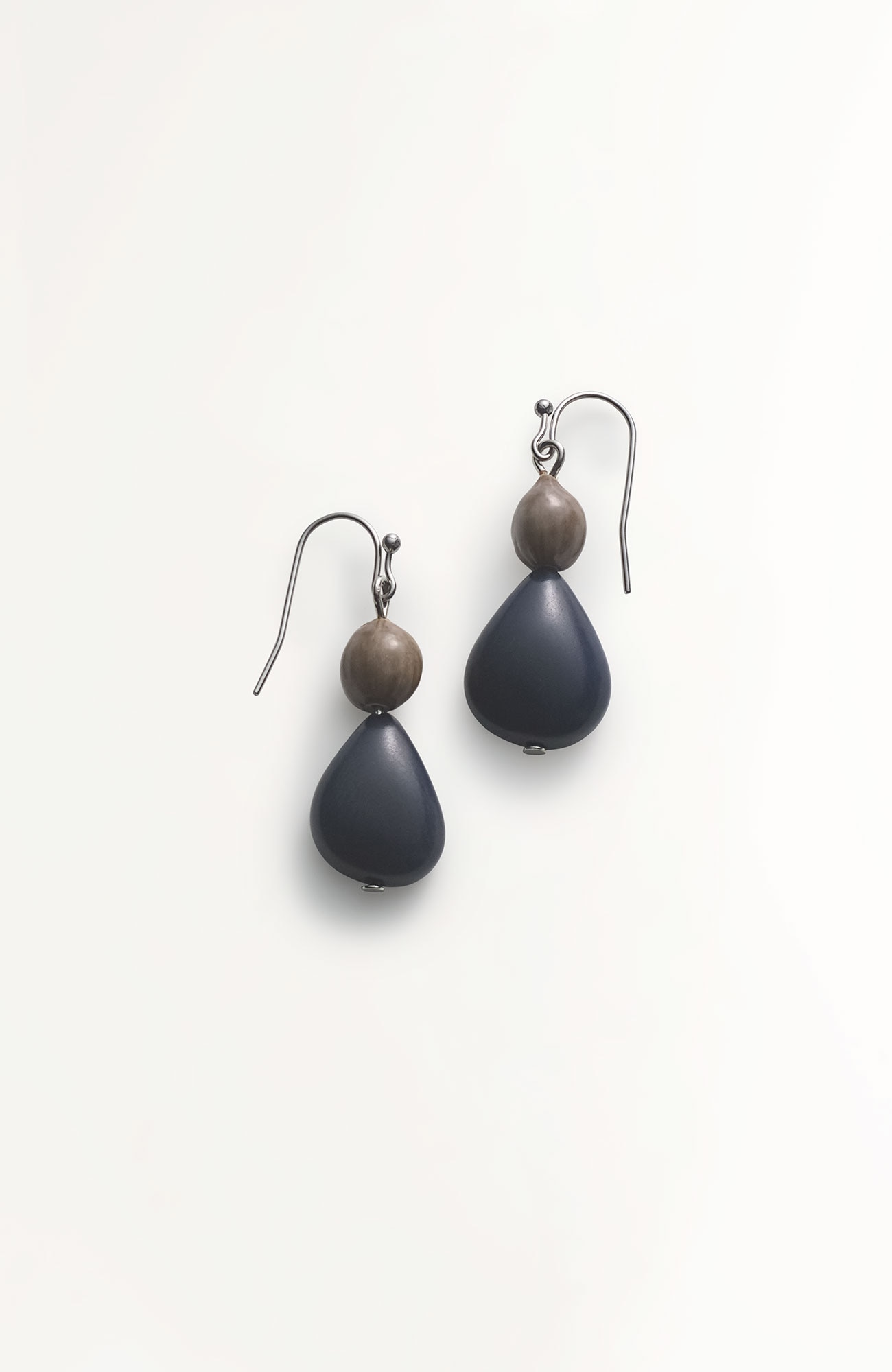 Pure Jill tagua petal earrings