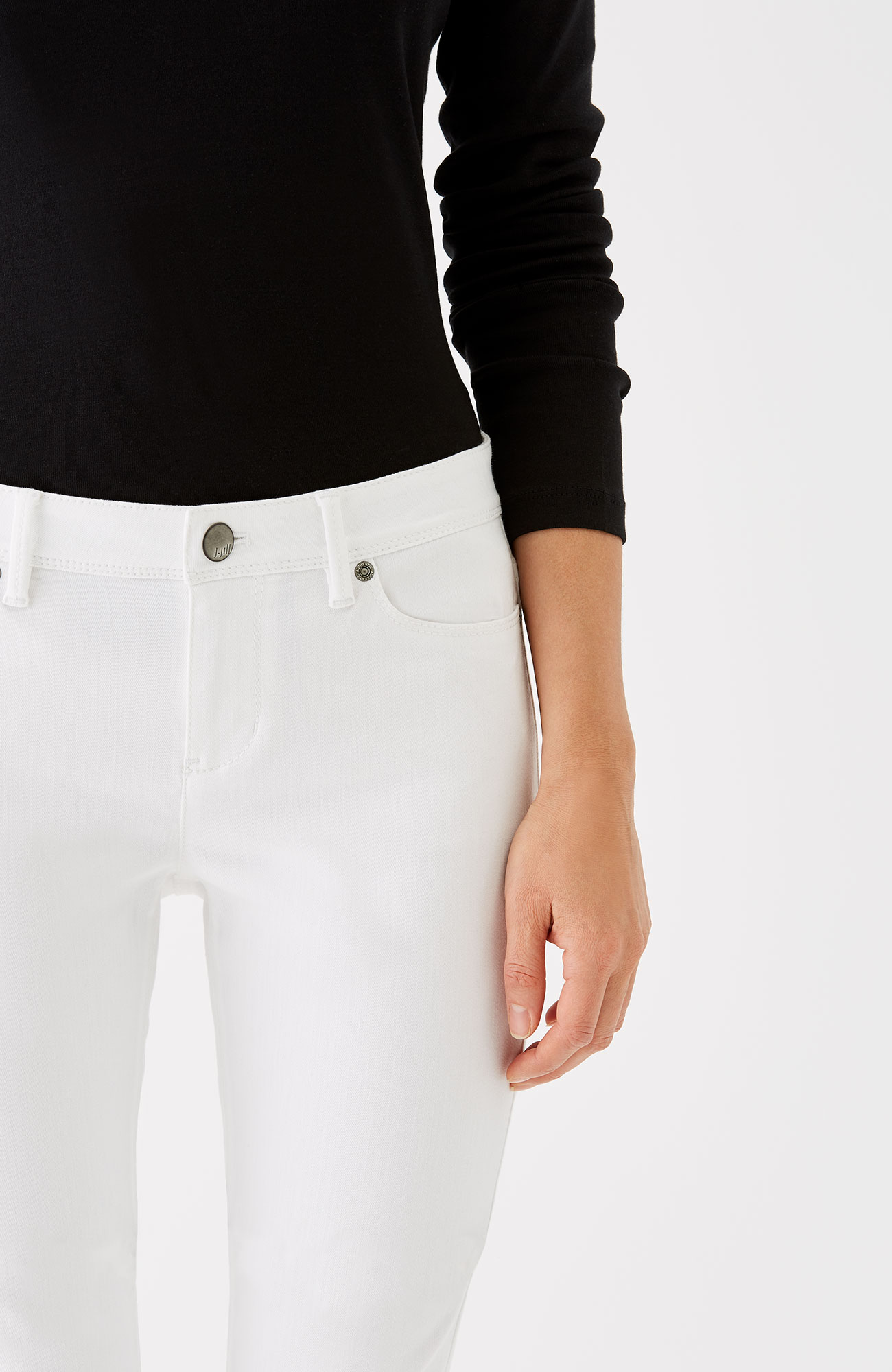 Authentic Fit barely boot-cut jeans