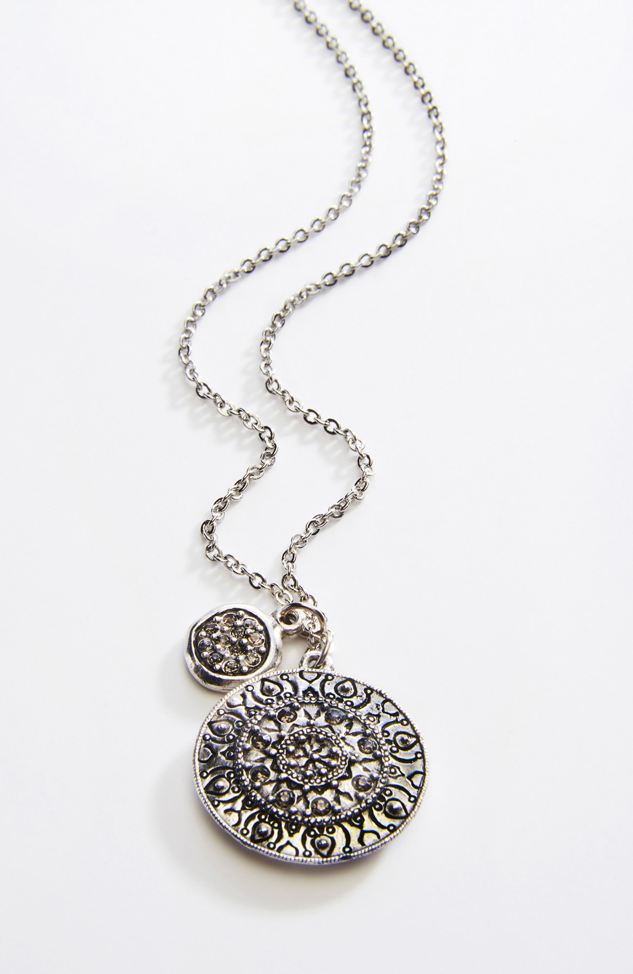 sparkling charms necklace