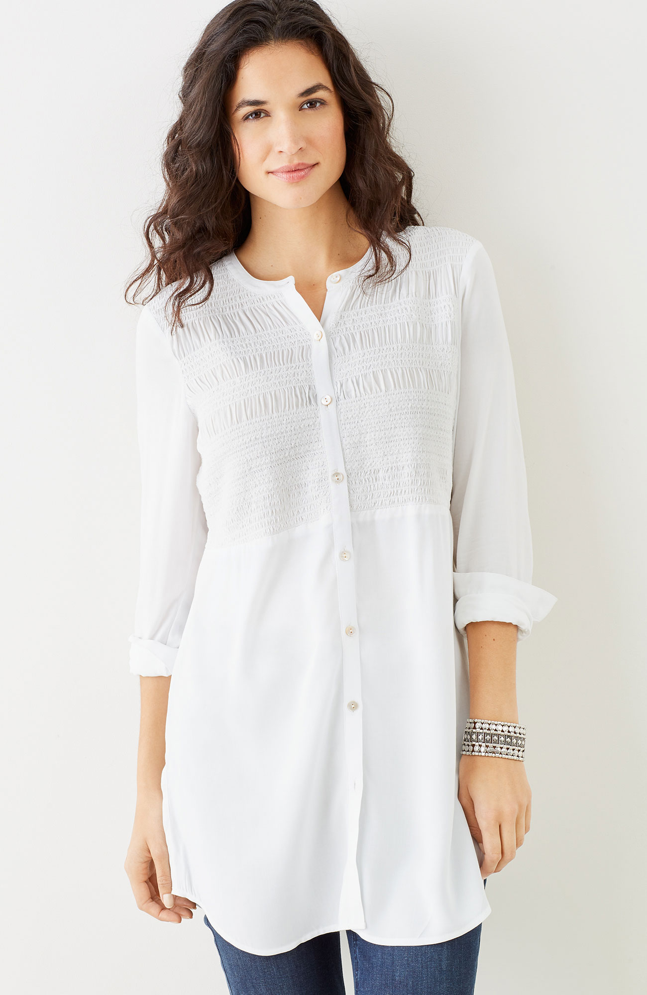 soft & light rayon tunic