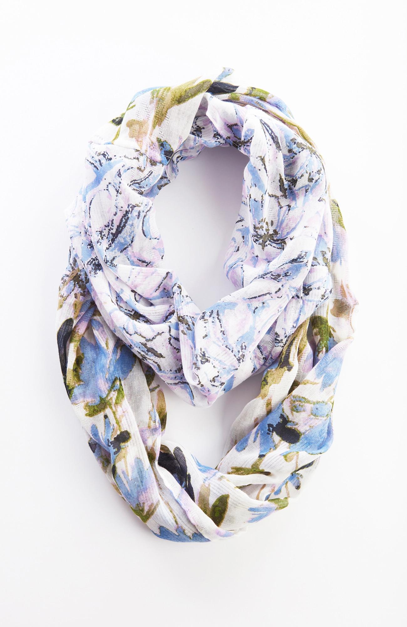 blushing blooms infinity scarf