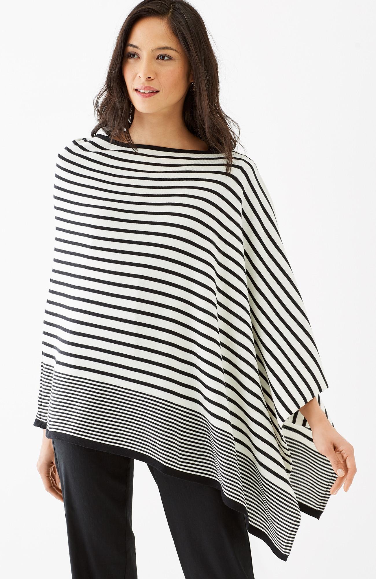 soft asymmetric poncho