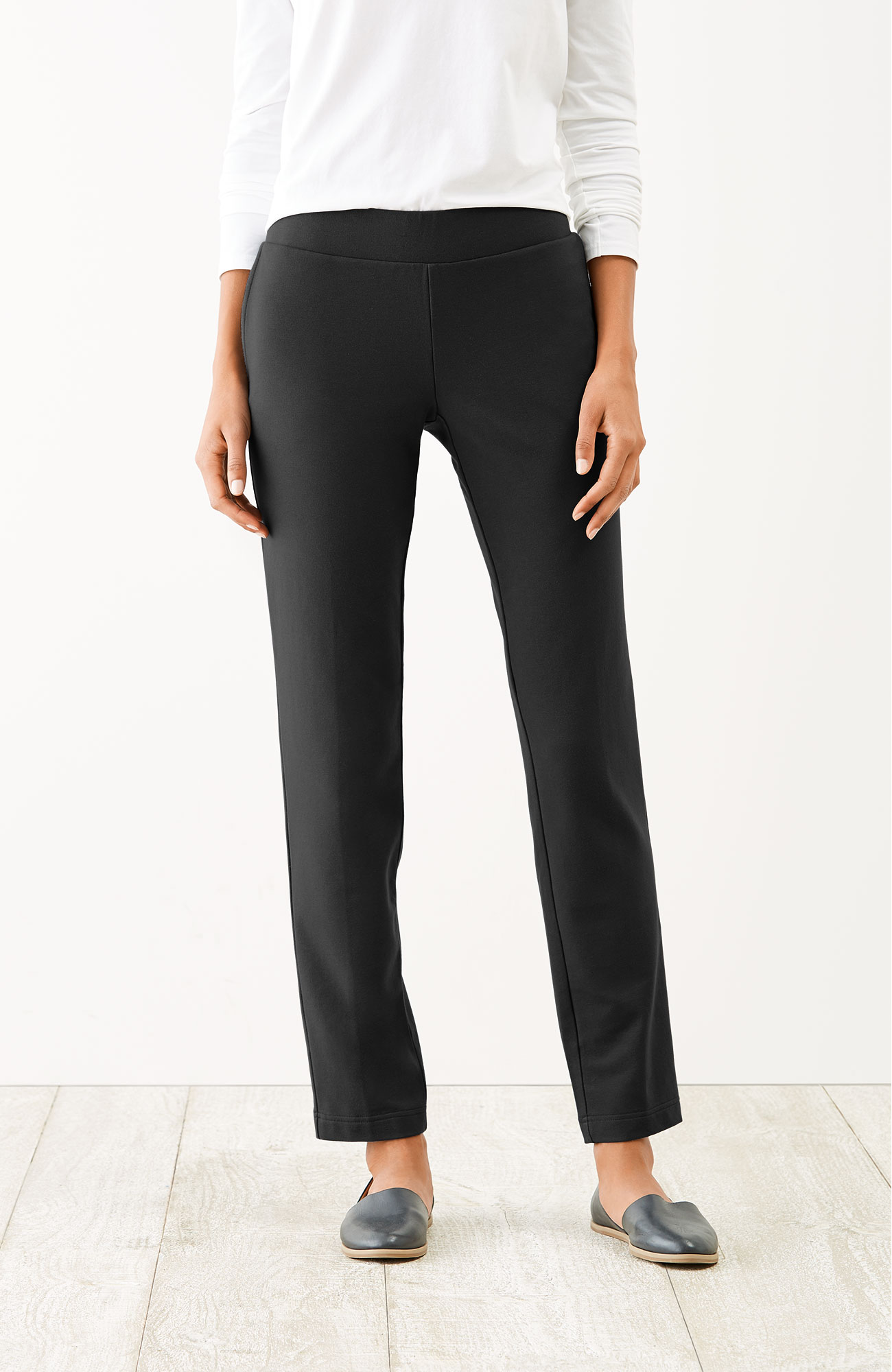 Pure Jill relaxed slim-leg pants