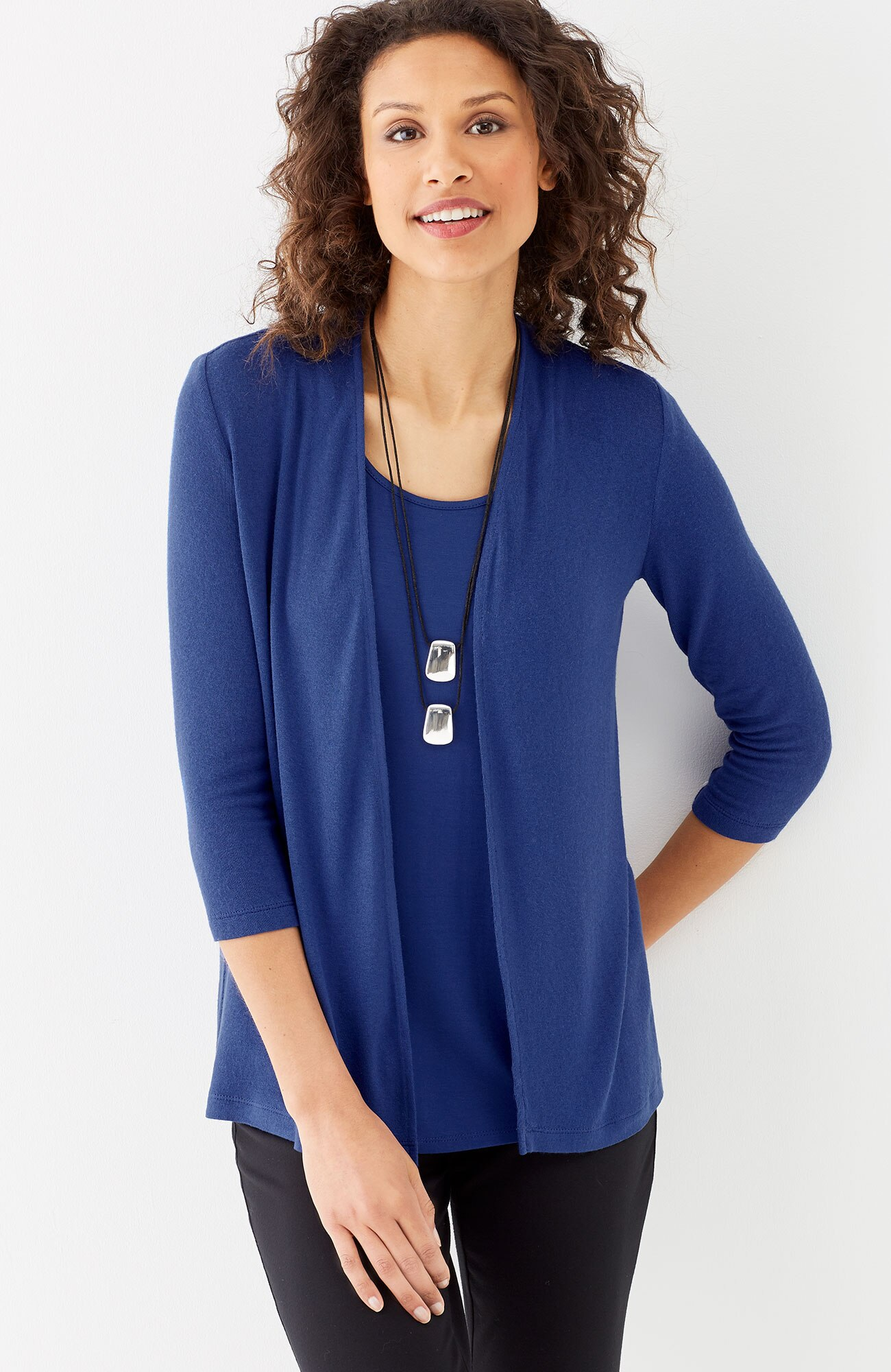 Wearever ultrafine ballet-sleeve cardi