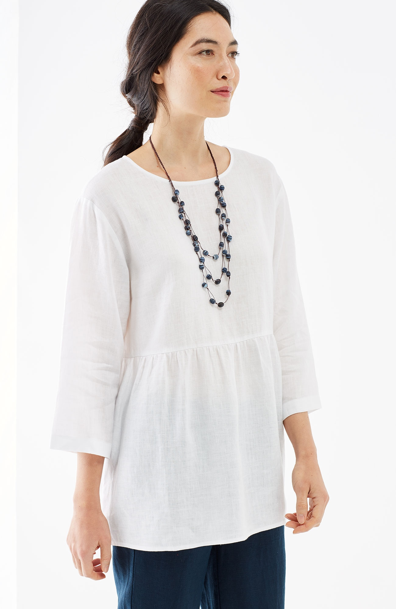 Pure Jill linen swing top