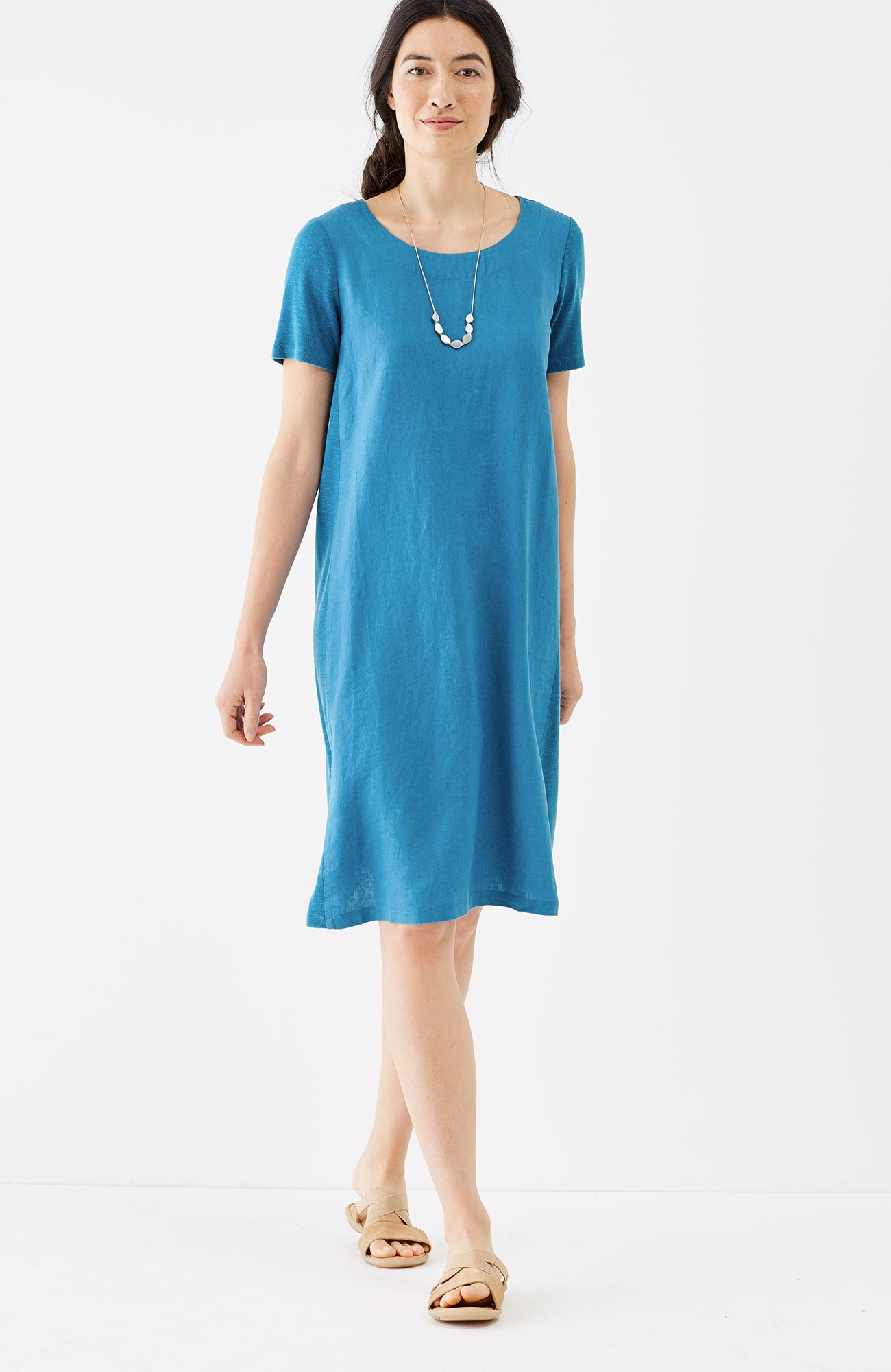 Pure Jill linen & Tencel® dress