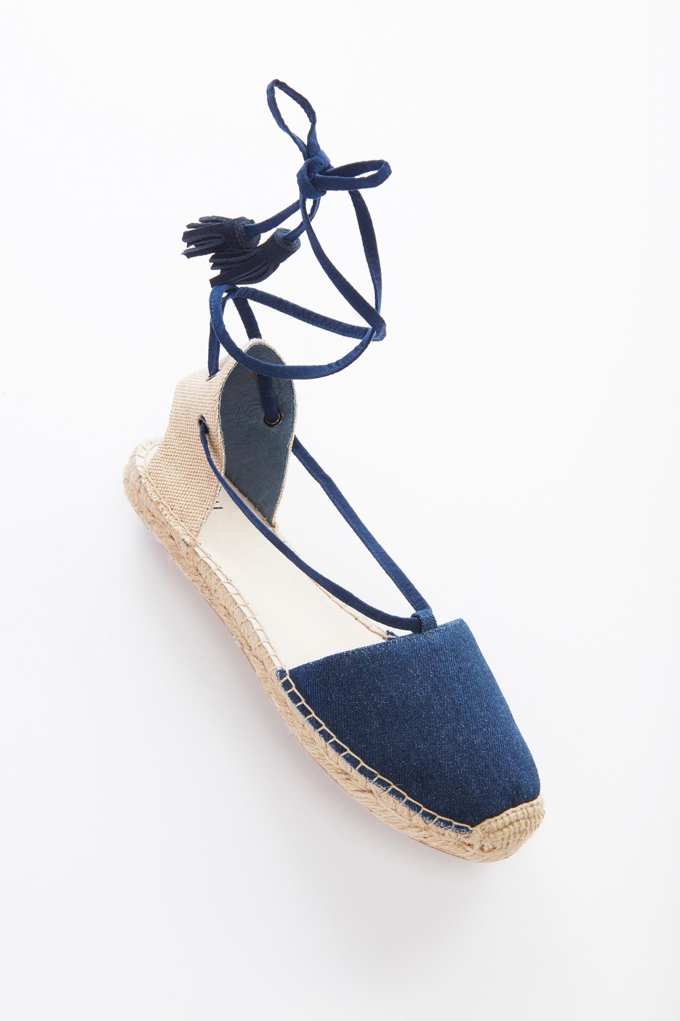 ankle-wrap espadrilles