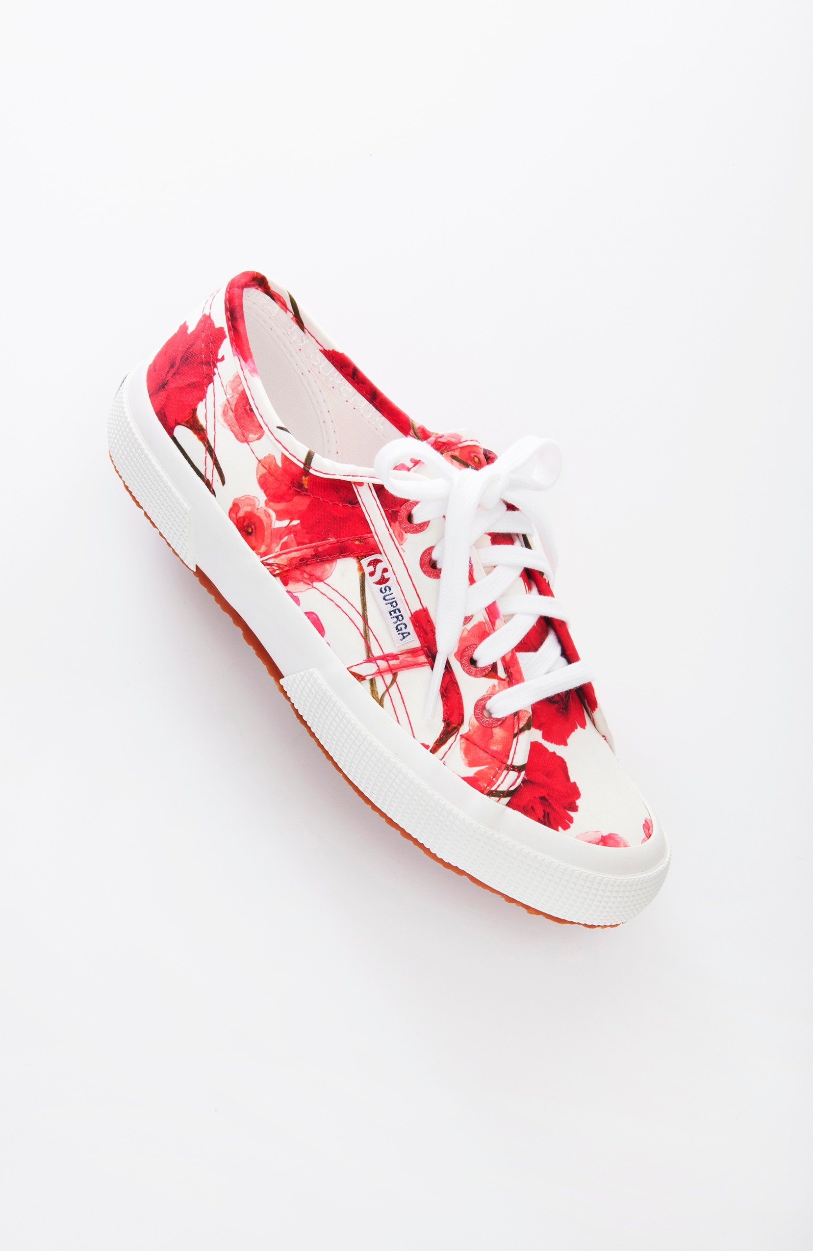 Superga® carnation-print sneakers