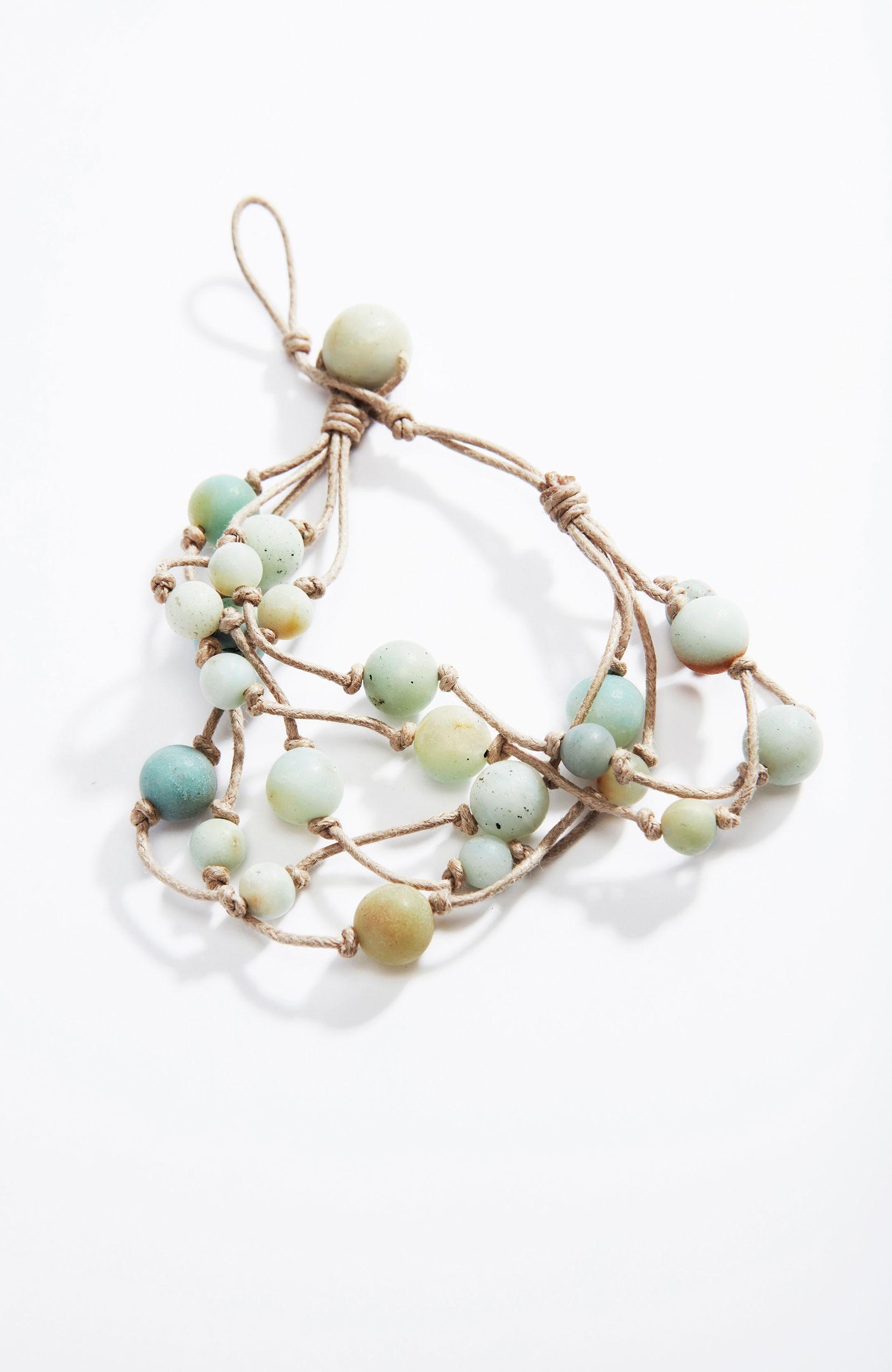 Pure Jill matte semiprecious bracelet