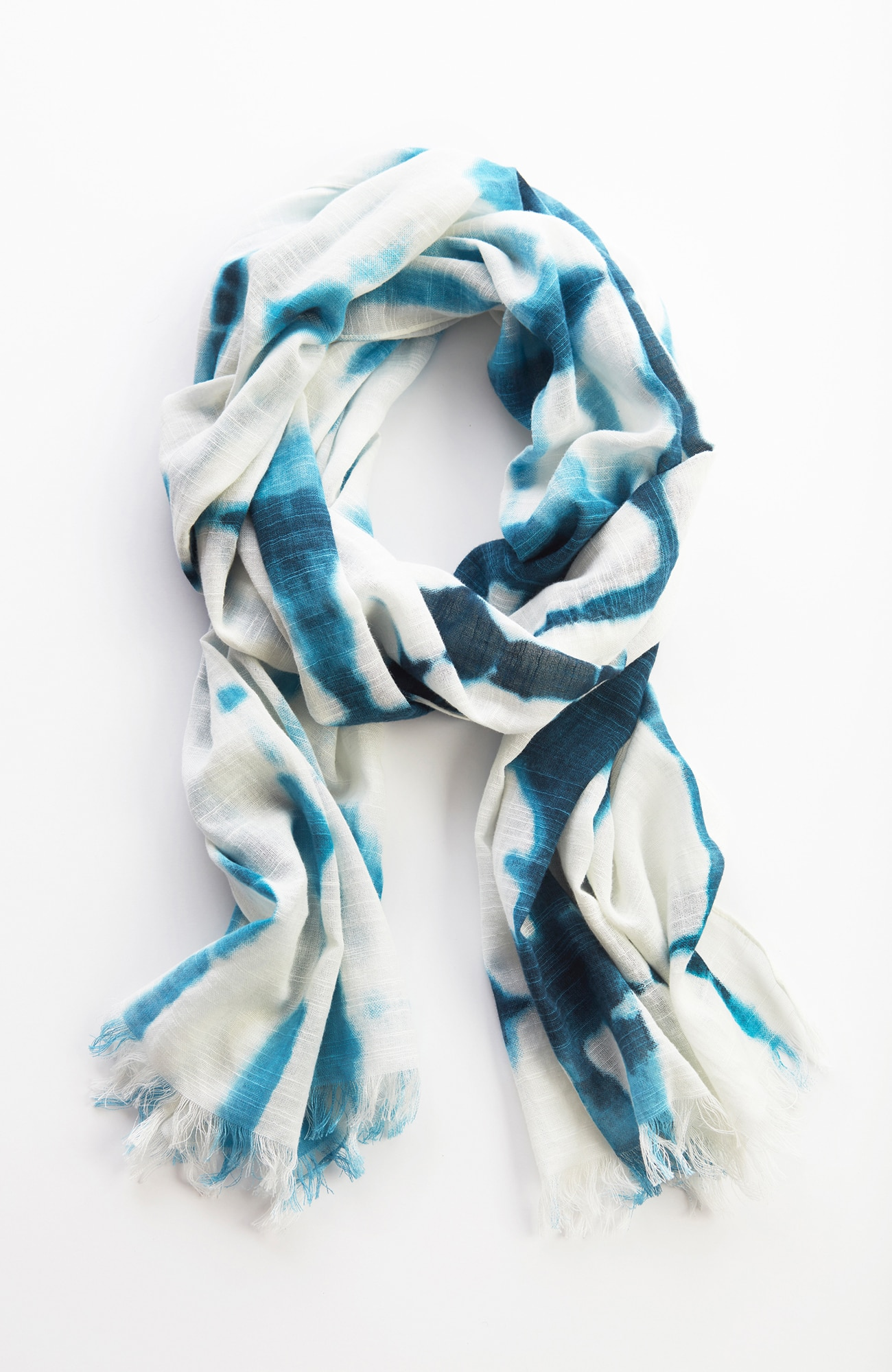 Pure Jill tie-dye print scarf