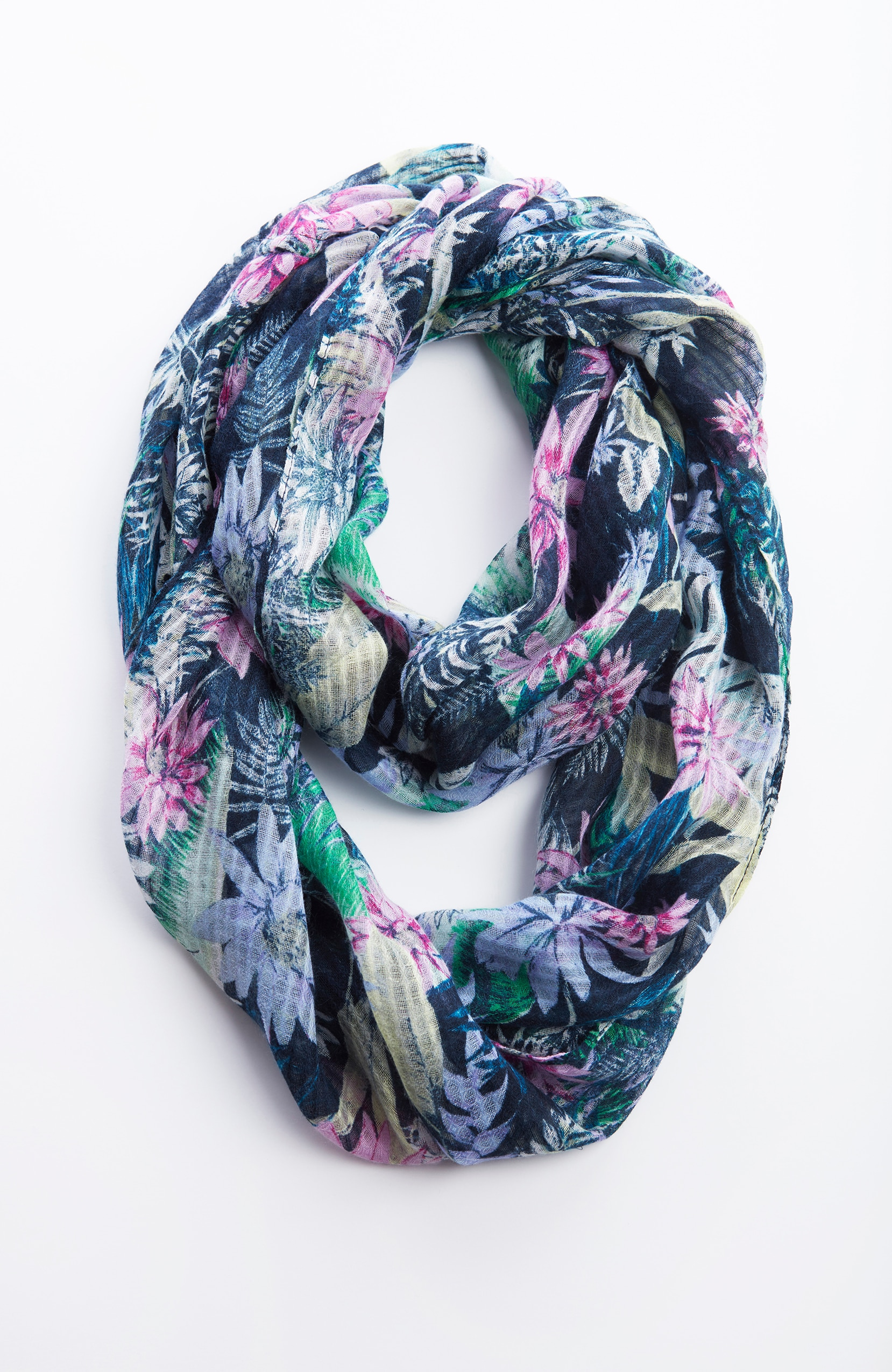 lush garden infinity scarf