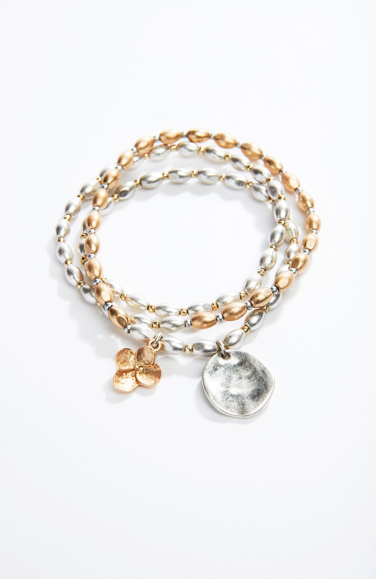hydrangea wrap bracelet
