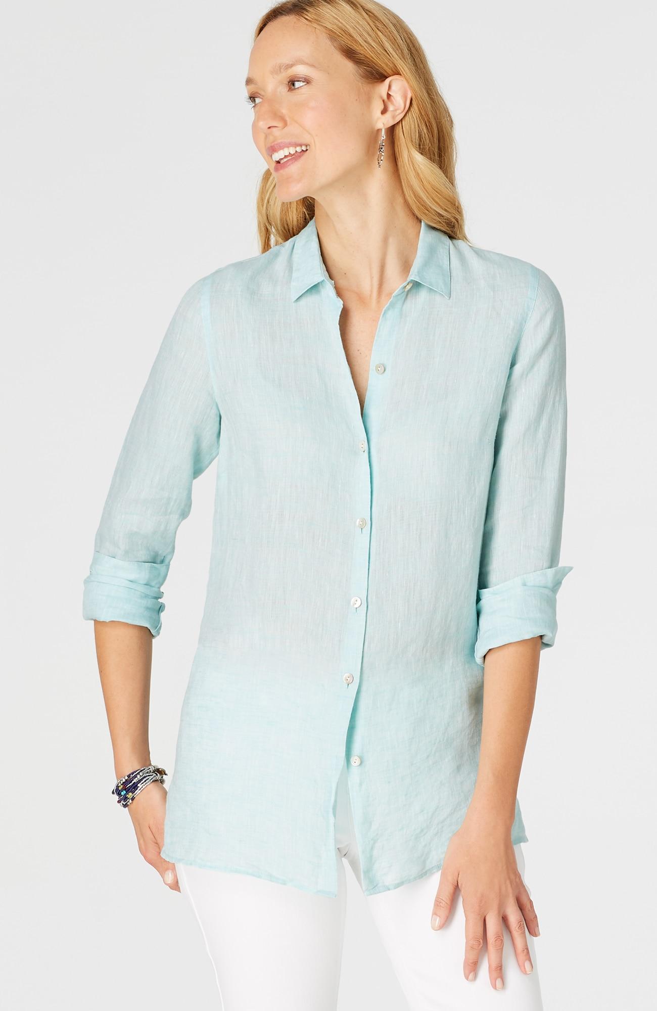 essential linen shirt