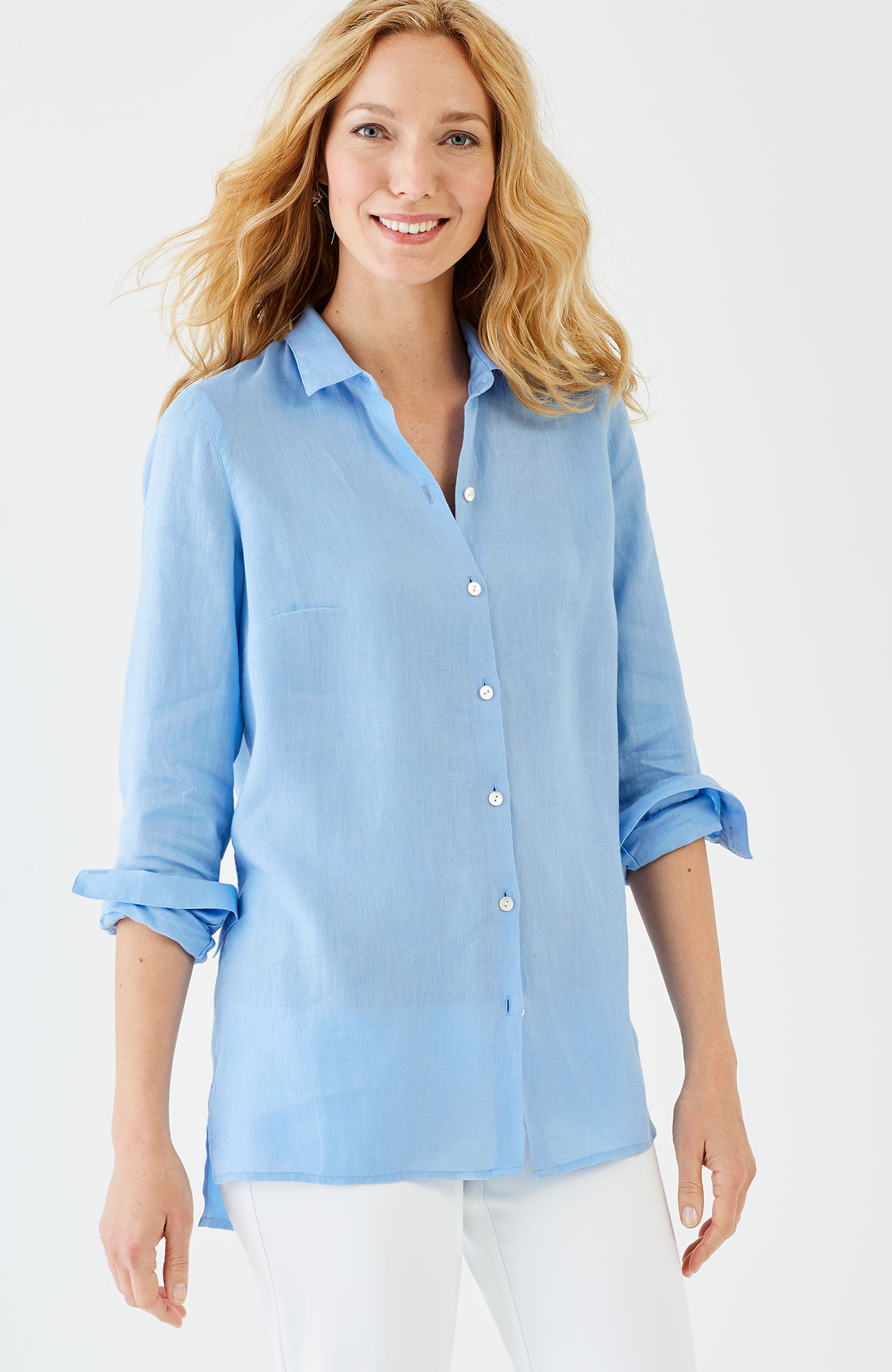 essential linen shirt