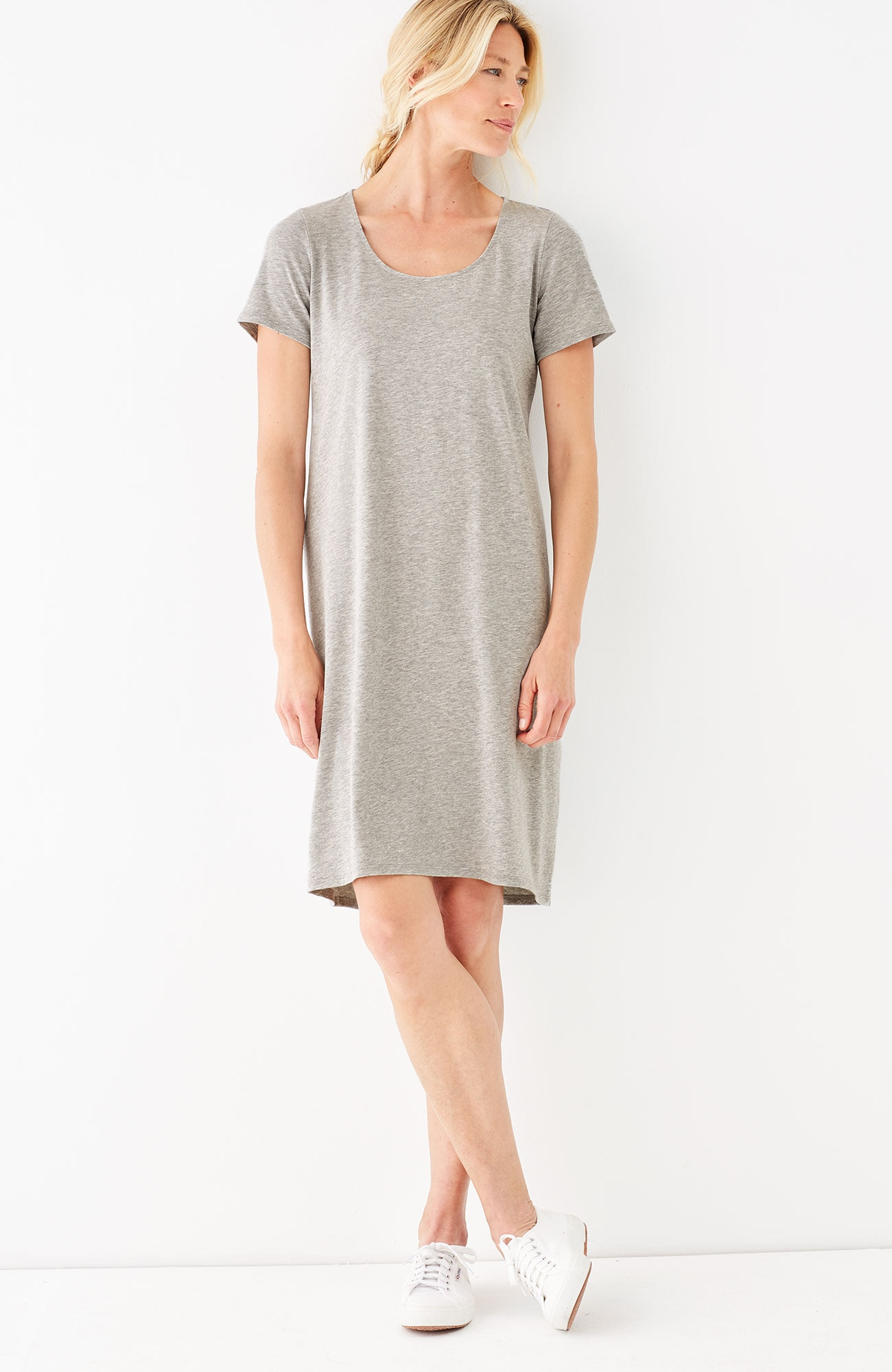 Pure Jill A-line elliptical dress