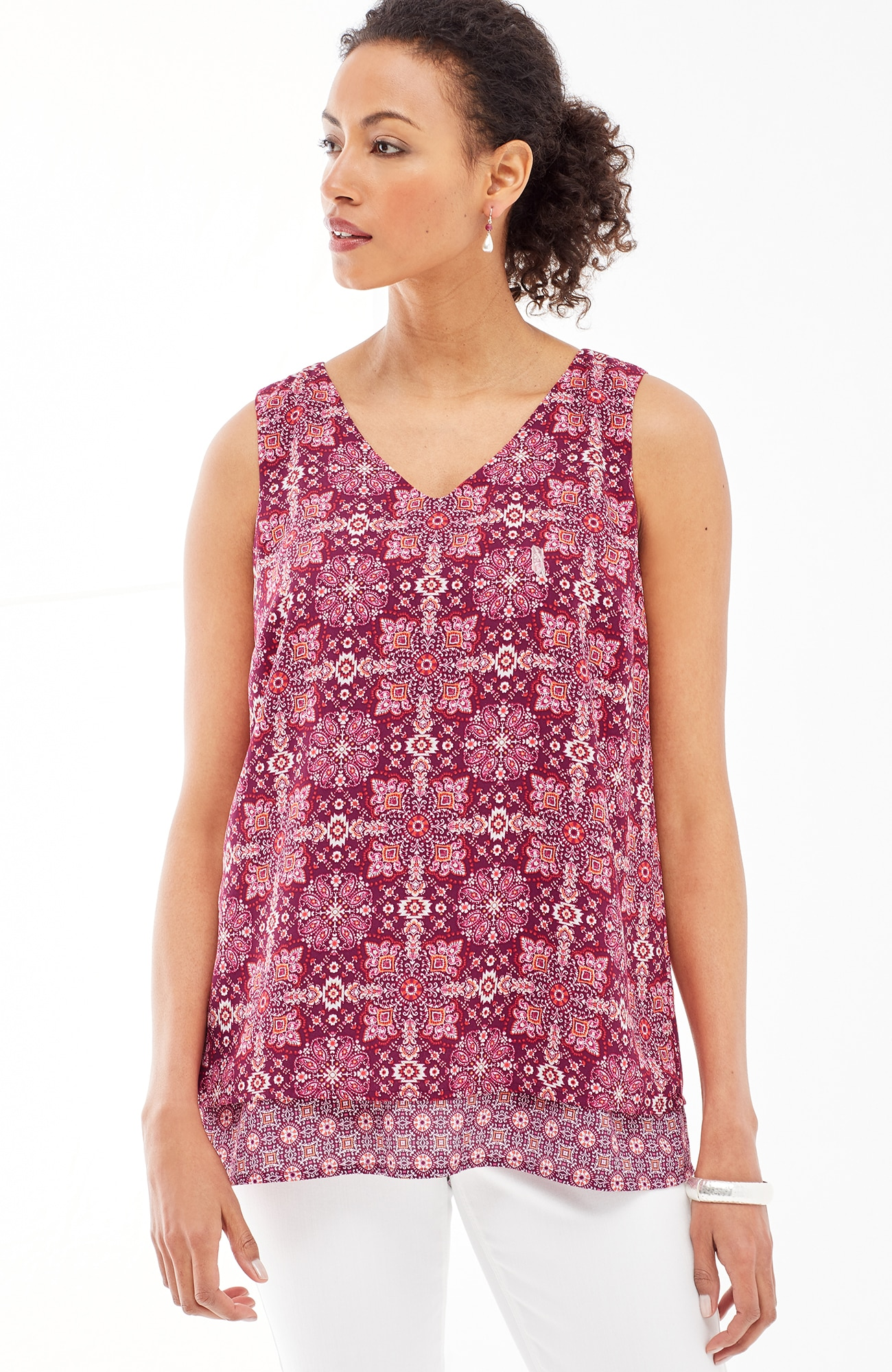 mixed-print layered tank