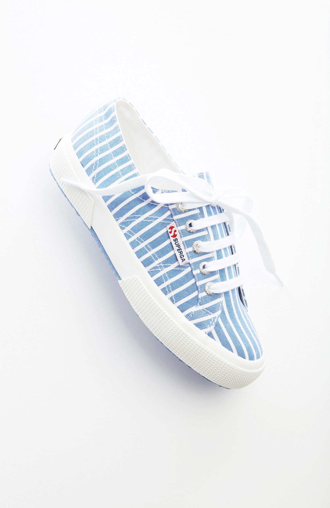 Superga® striped sneakers