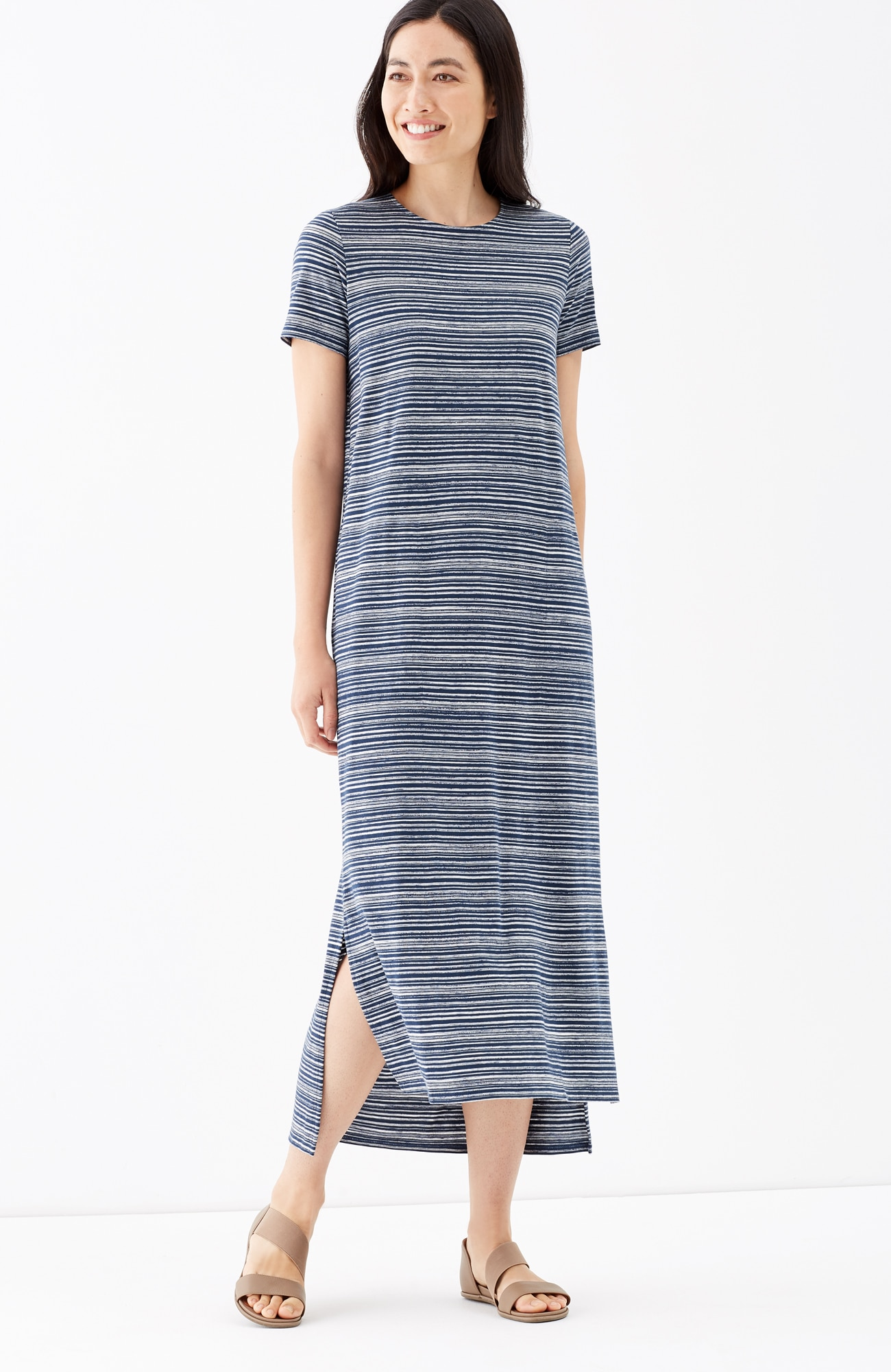 Pure Jill crew-neck dress