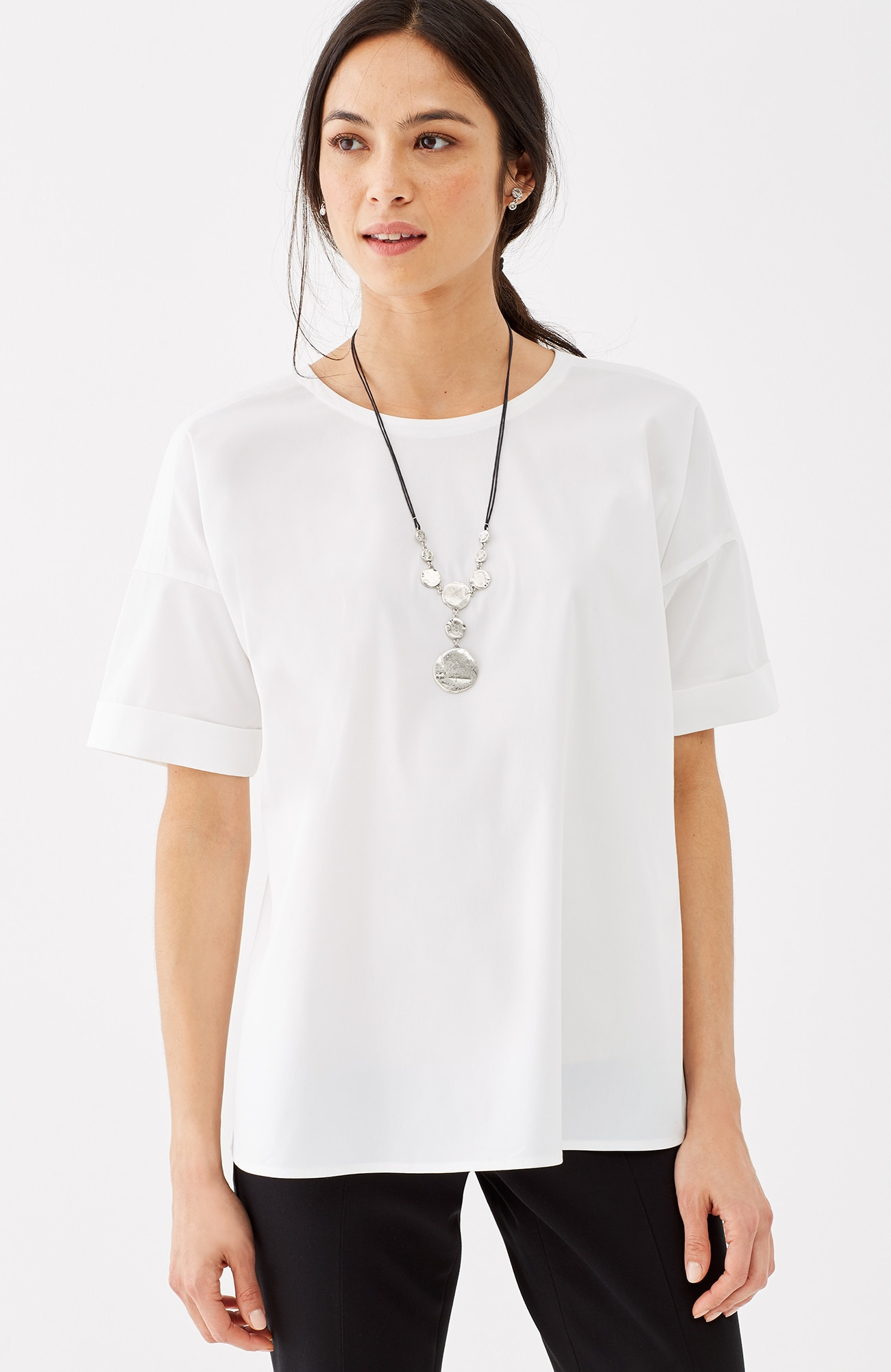 essential short-sleeve top