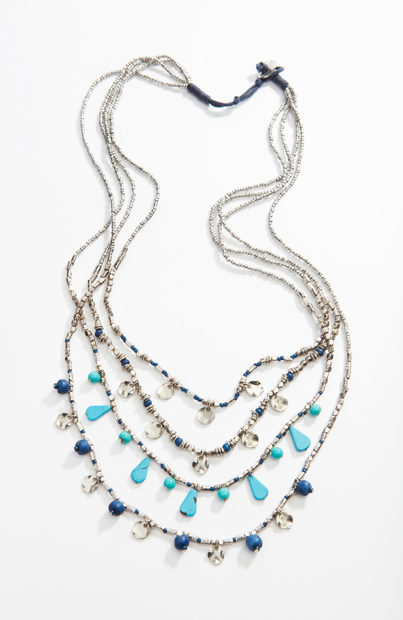 ocean mist cascading necklace