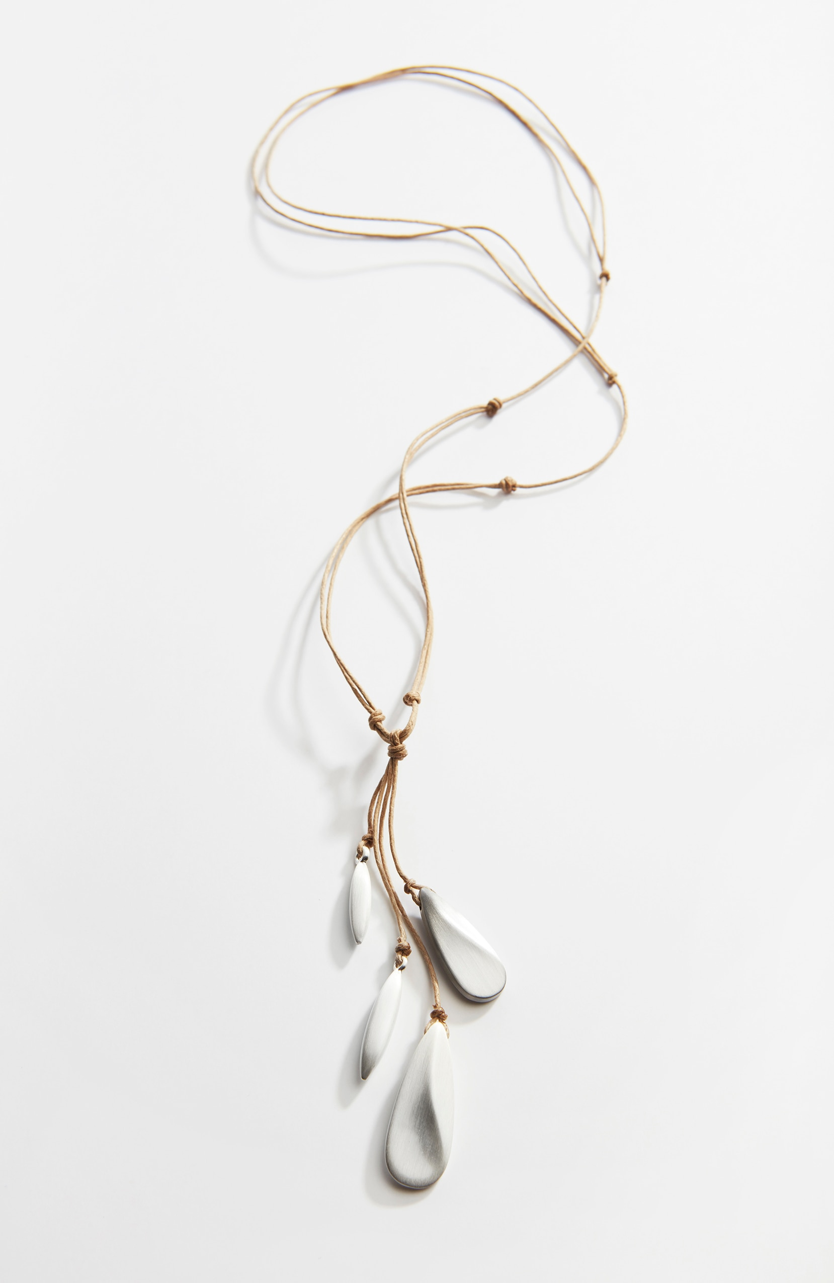 Pure Jill hand-brushed droplets necklace
