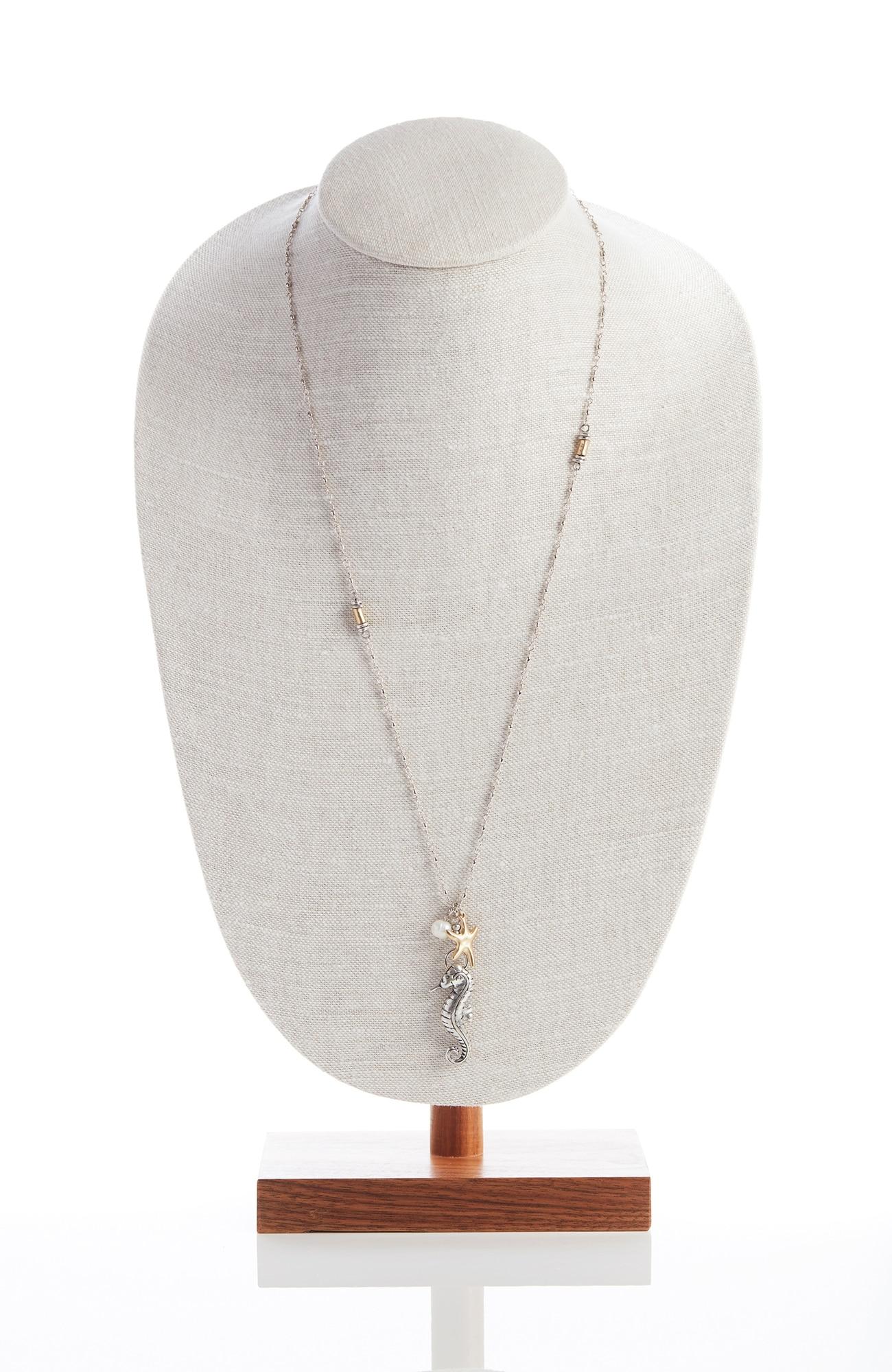 sand & sea charm necklace