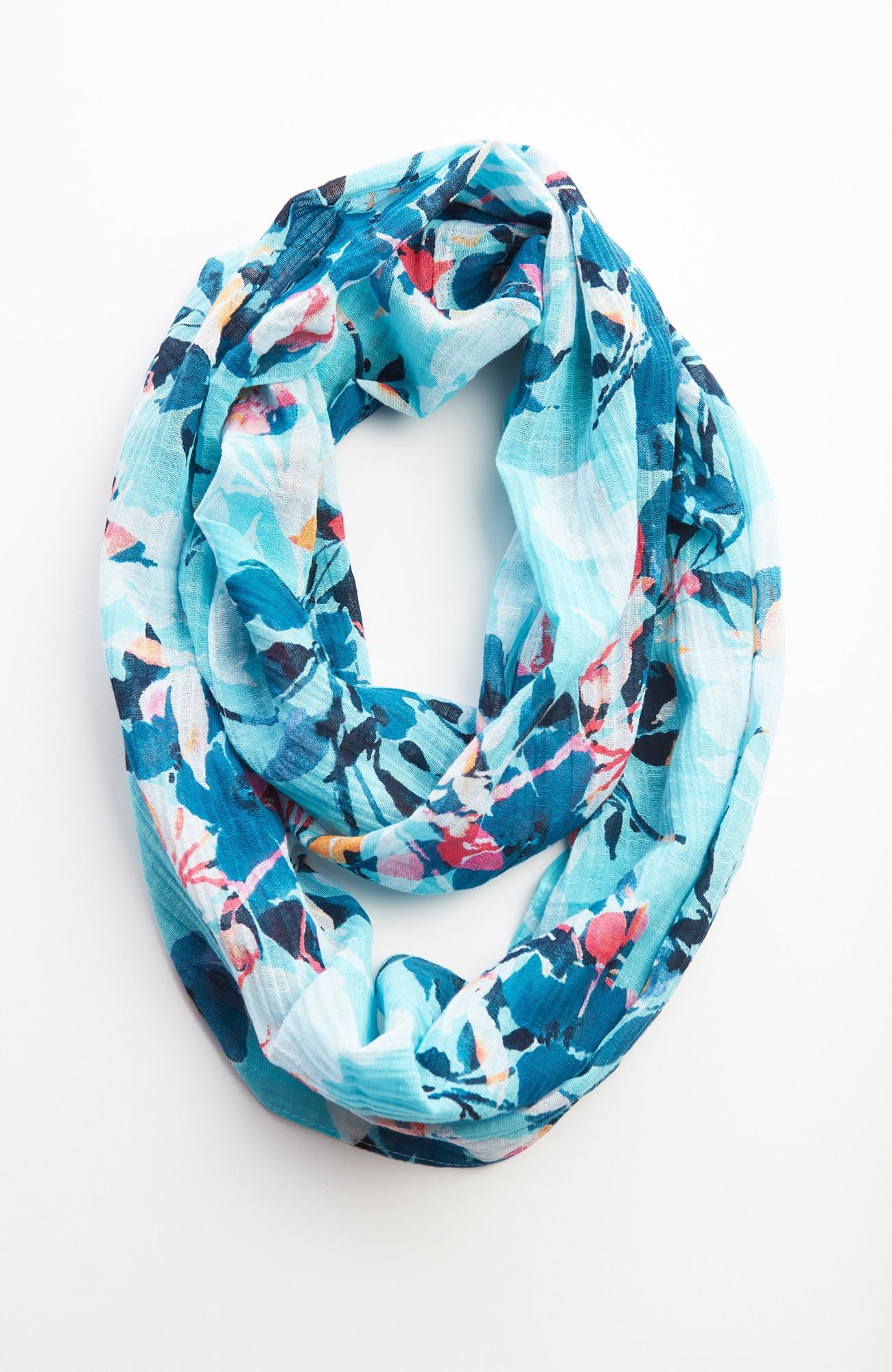 moonlit-petals infinity scarf