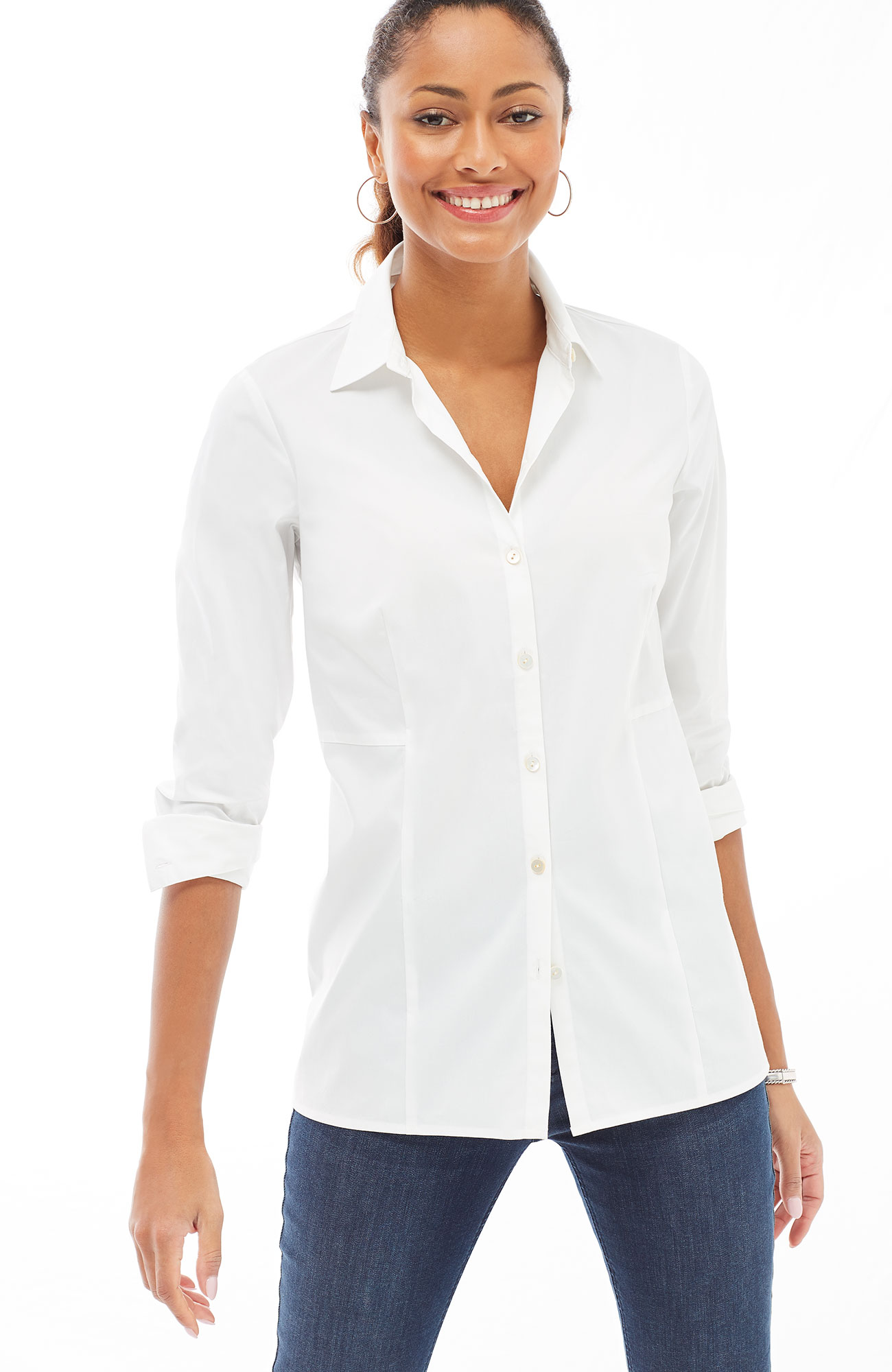 perfect seamed shirt