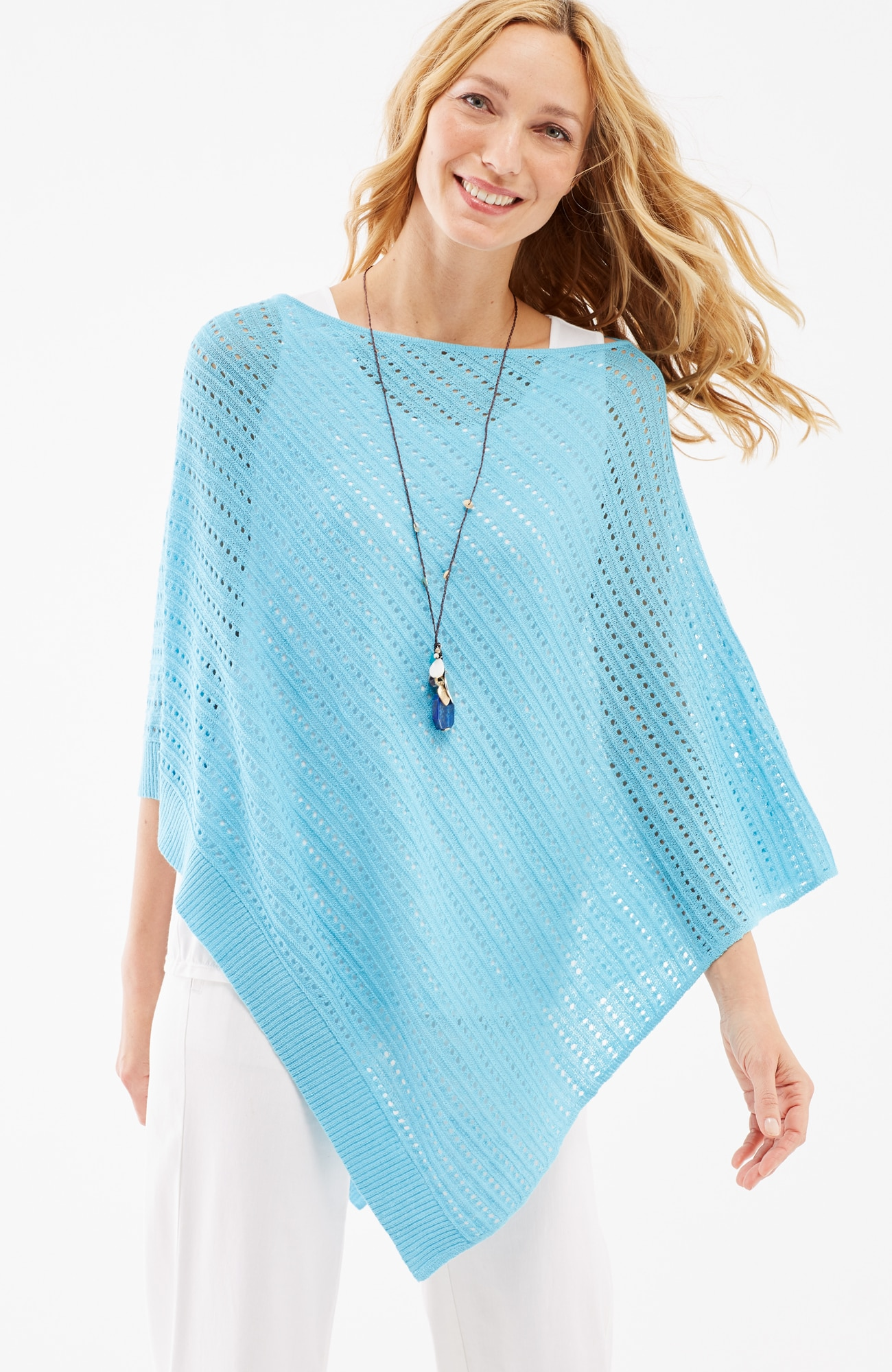 airy poncho
