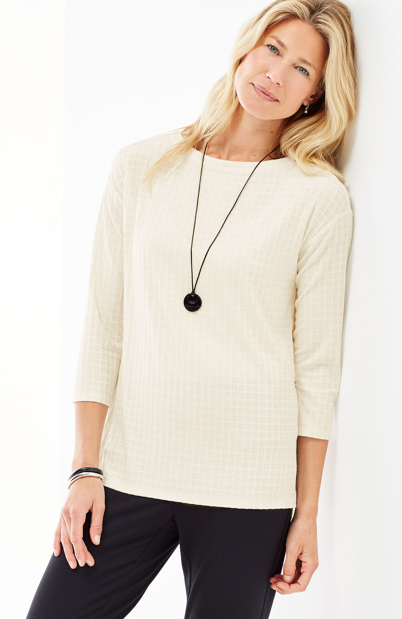 Wearever textured easy top