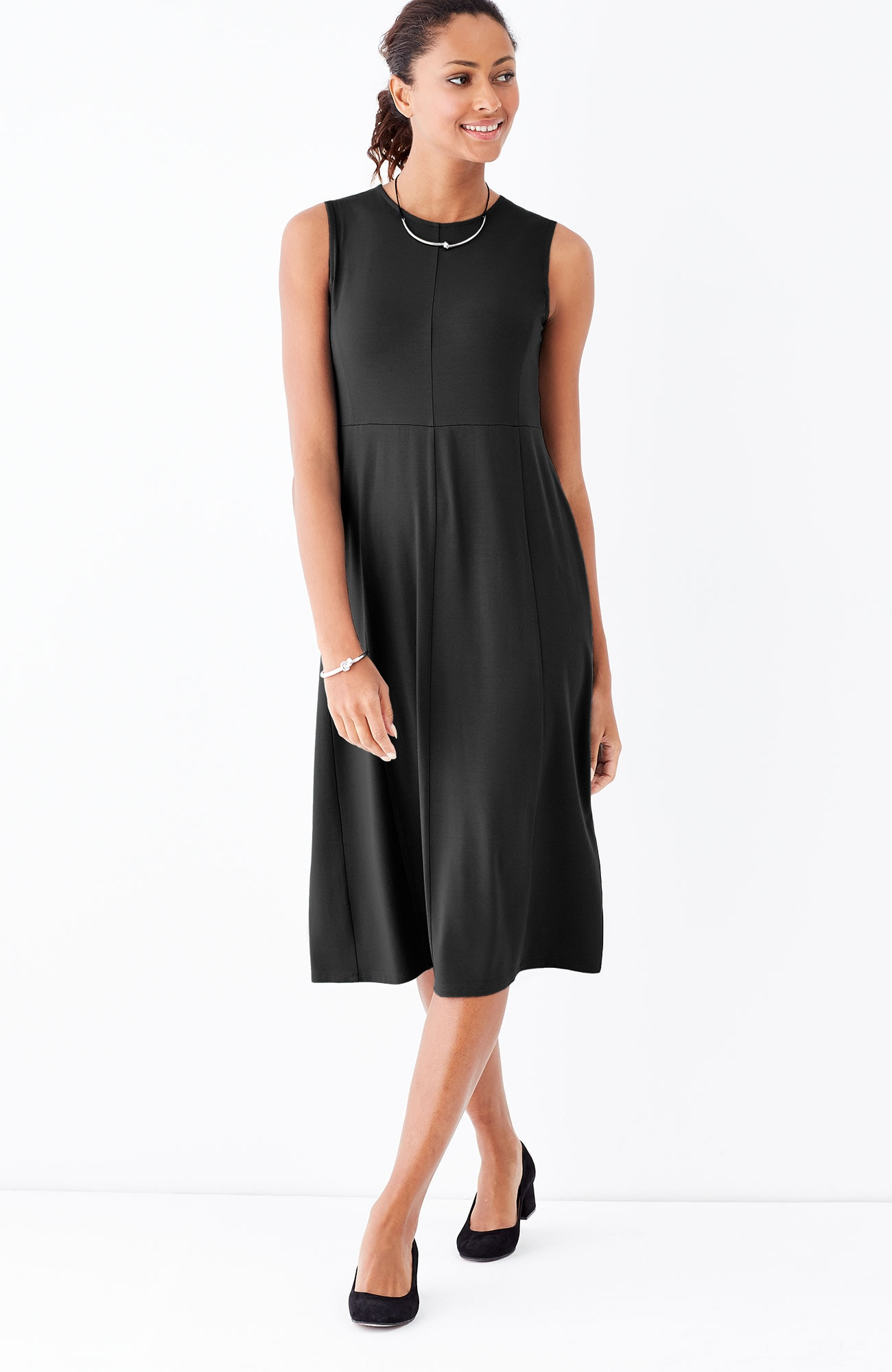 Wearever sleeveless multiseam dress