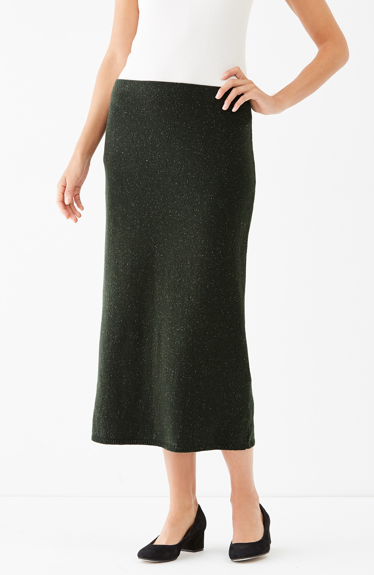 Callie sweater knit skirt