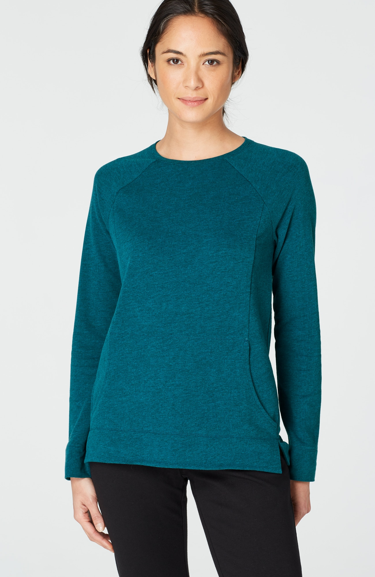 Pure Jill relaxed knit top