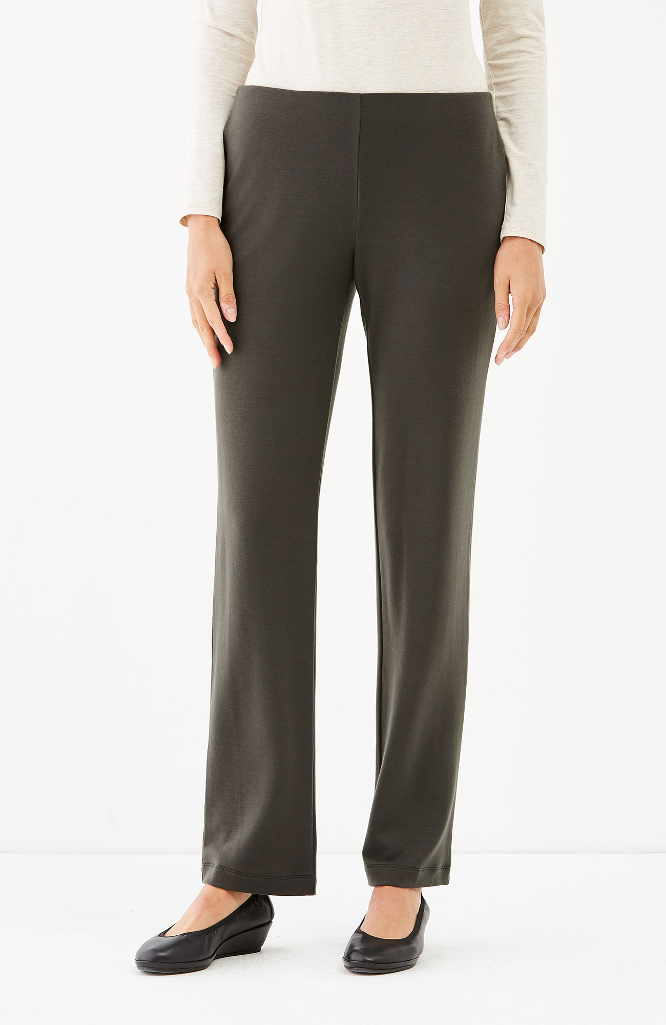 Pure Jill Luxe Tencel® straight-leg pants