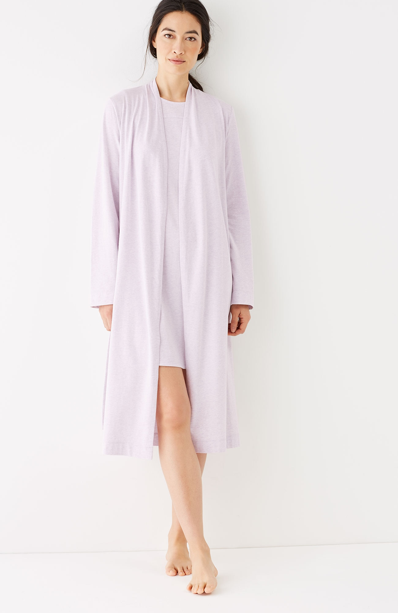 Pure Jill Sleep ultrasoft short robe
