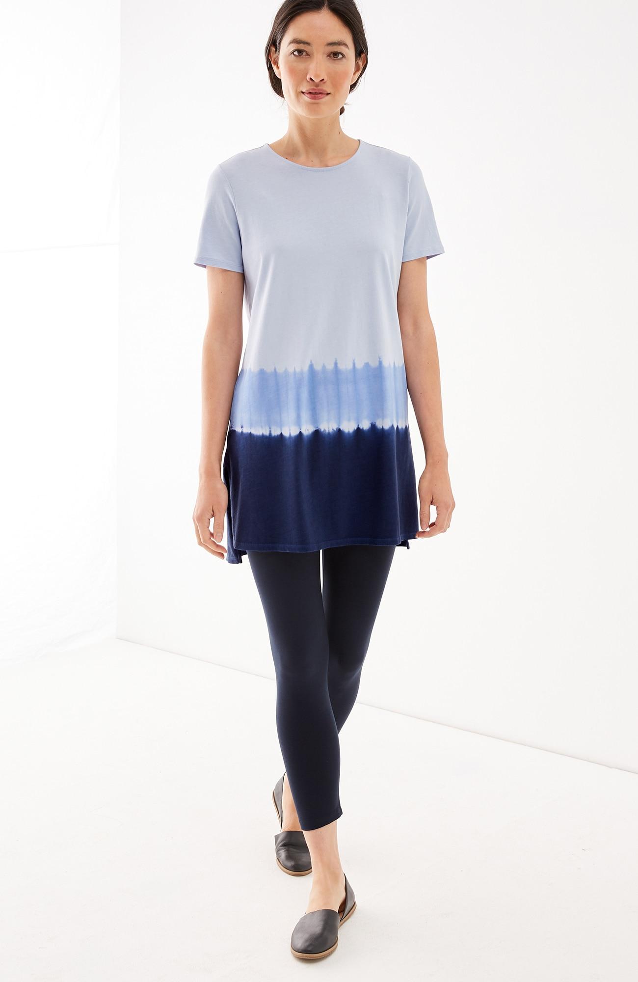 Pure Jill dip-dyed tunic