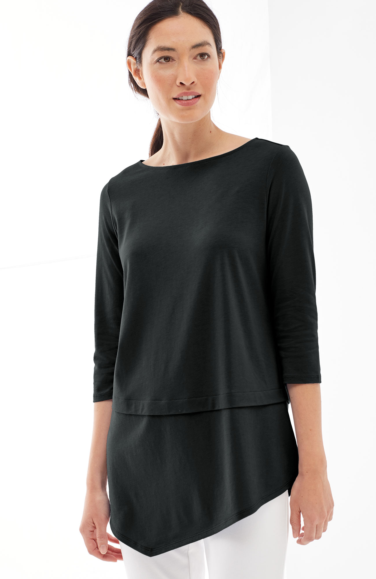Pure Jill boat-neck top