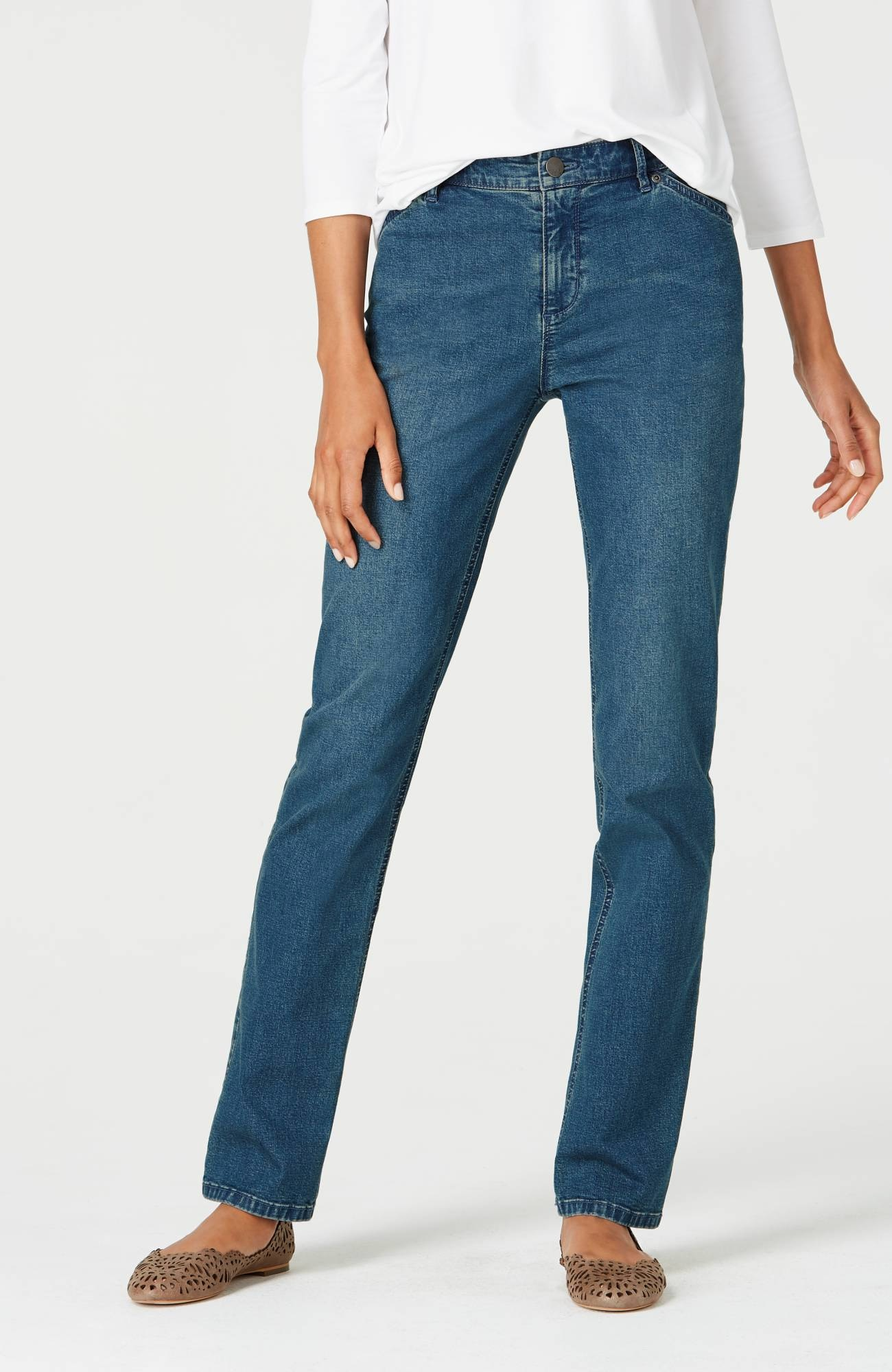 Tried & True straight-leg jeans