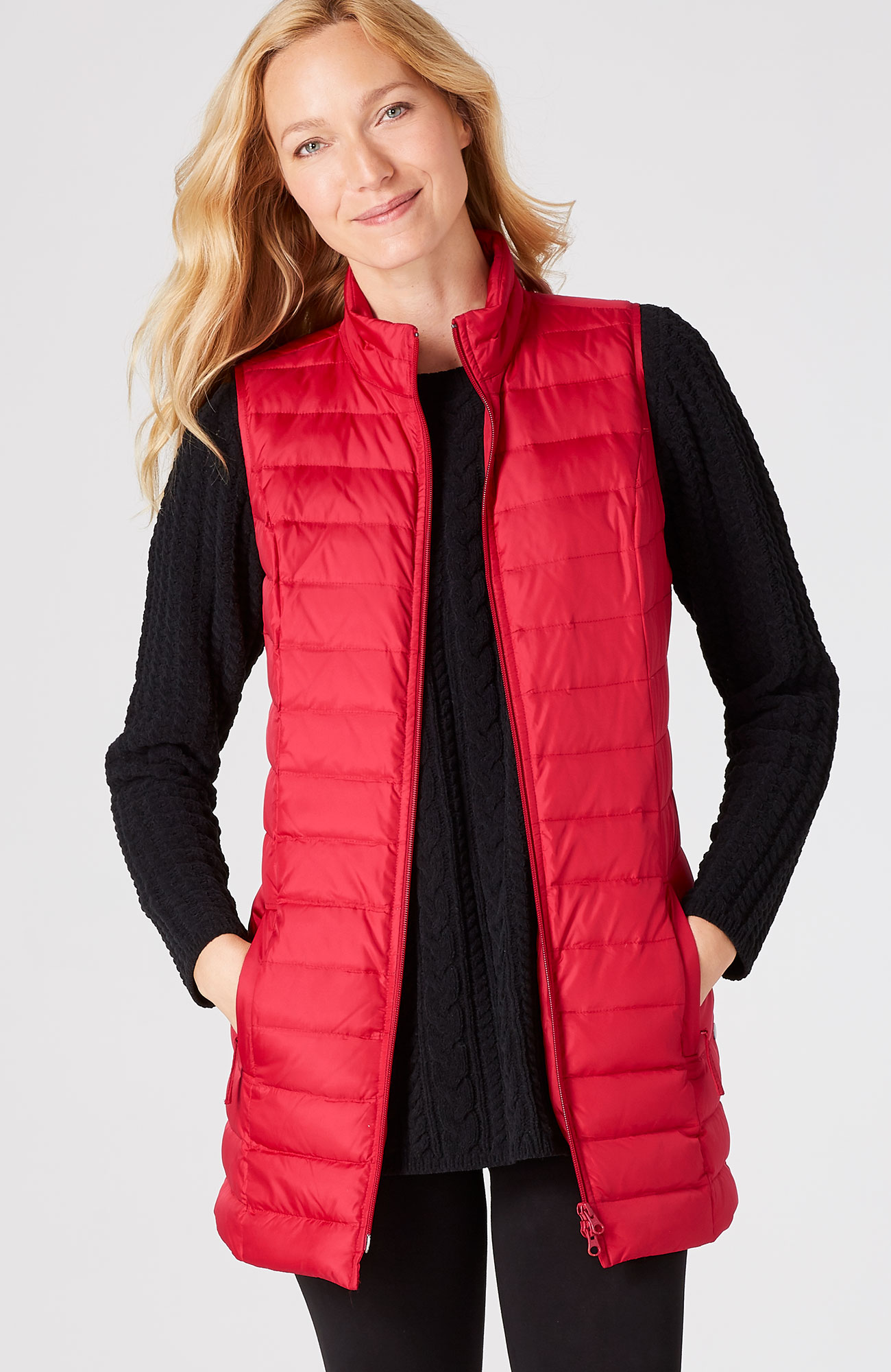 Lexington down puffer vest