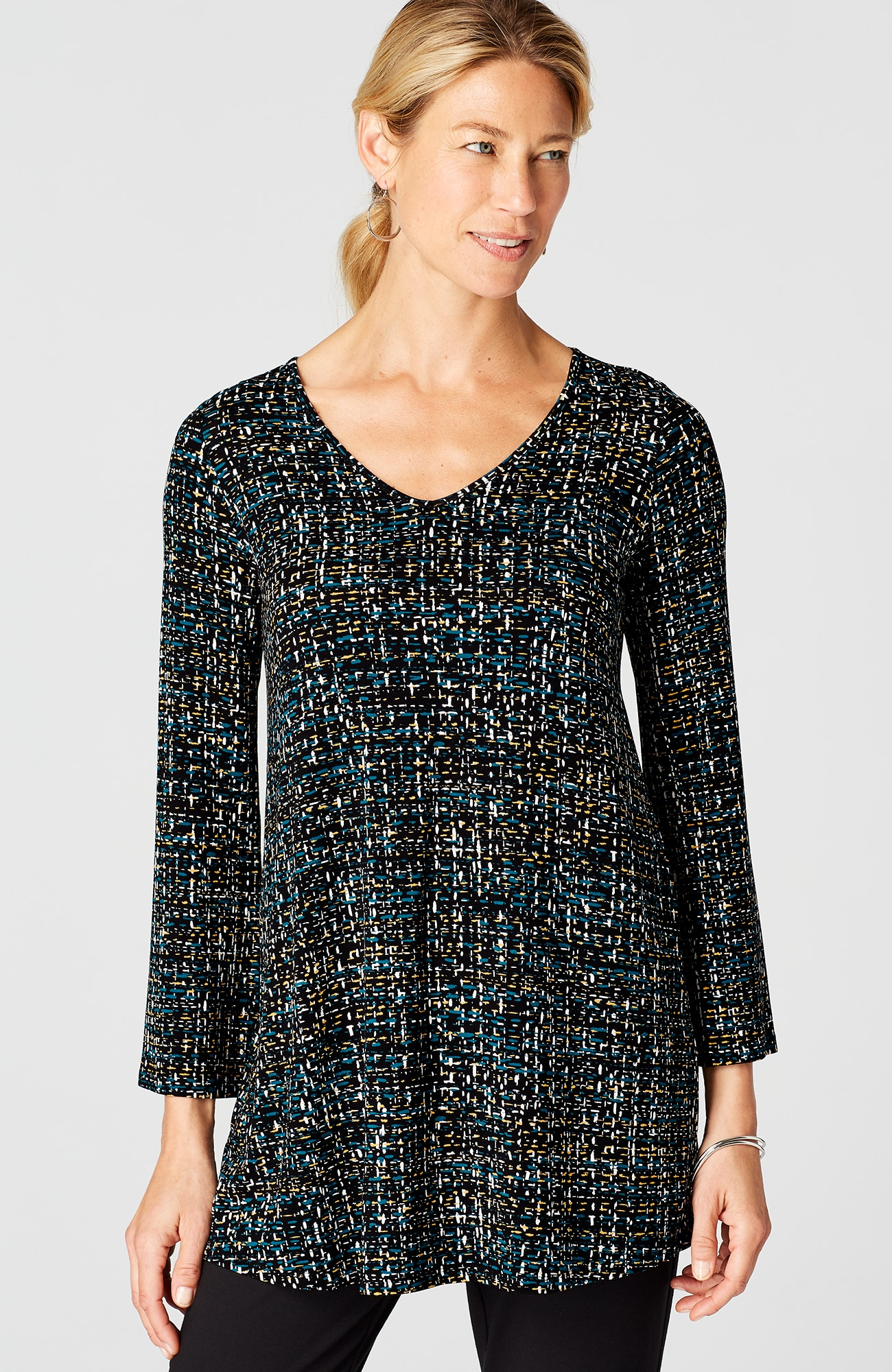 Wearever bell-sleeve tunic